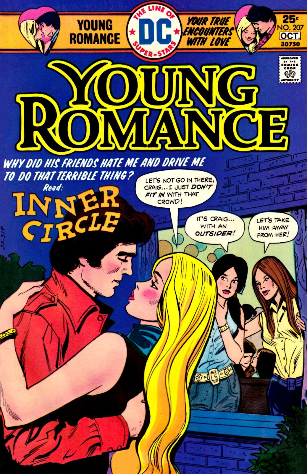 Young Romance issue 207 - Page 1