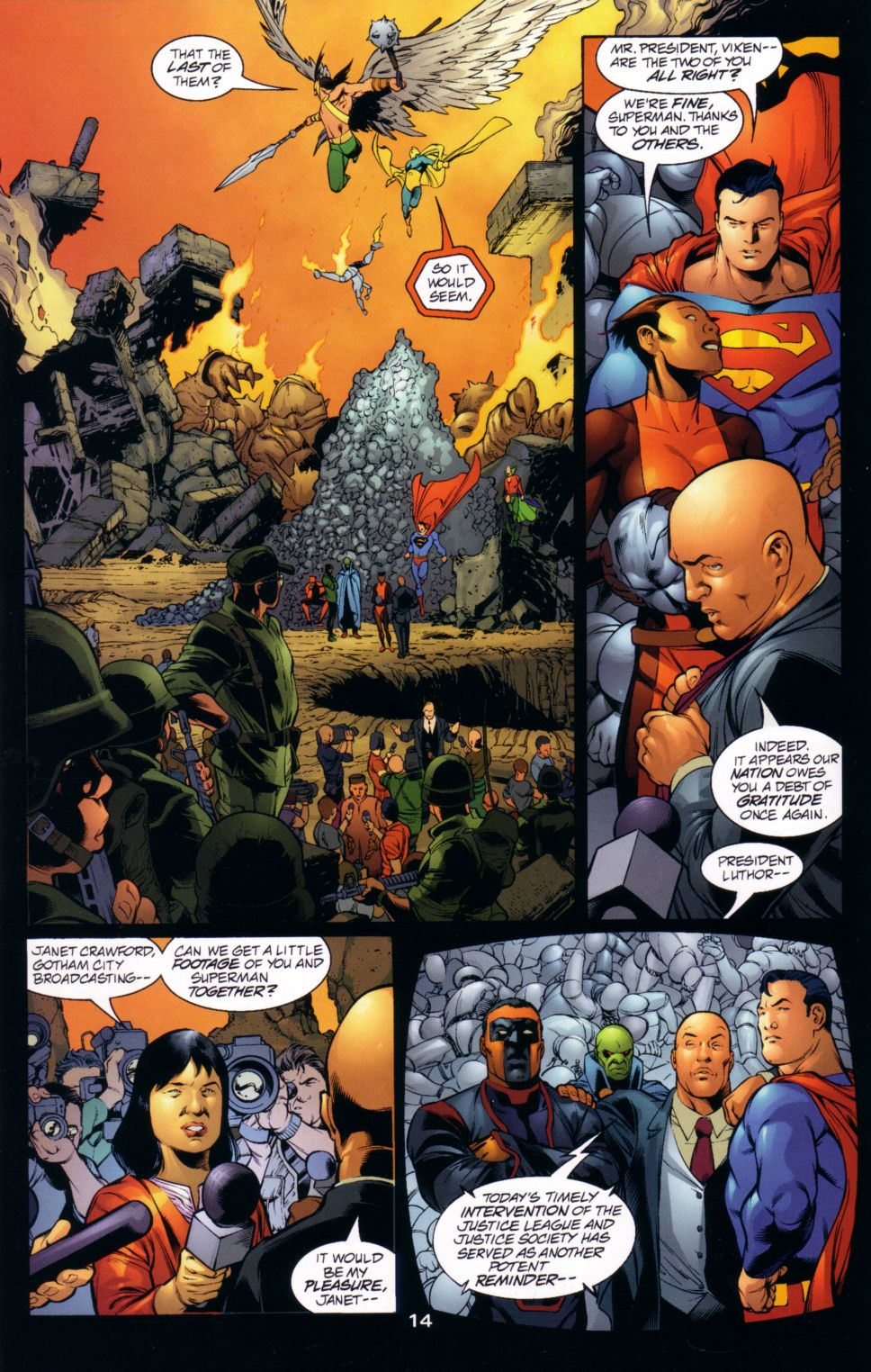 Read online JLA/JSA: Virtue and Vice comic -  Issue # TPB - 17