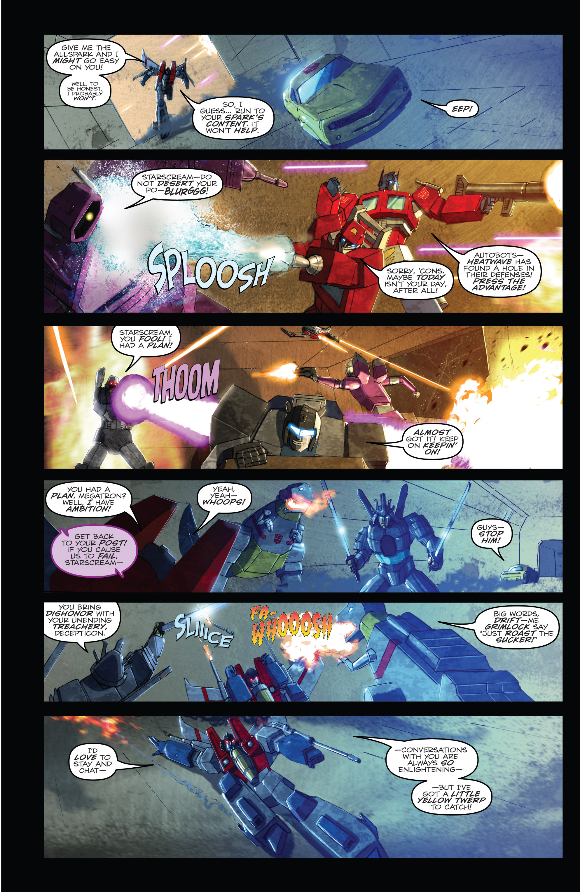 Read online Angry Birds Transformers comic -  Issue #1 - 5