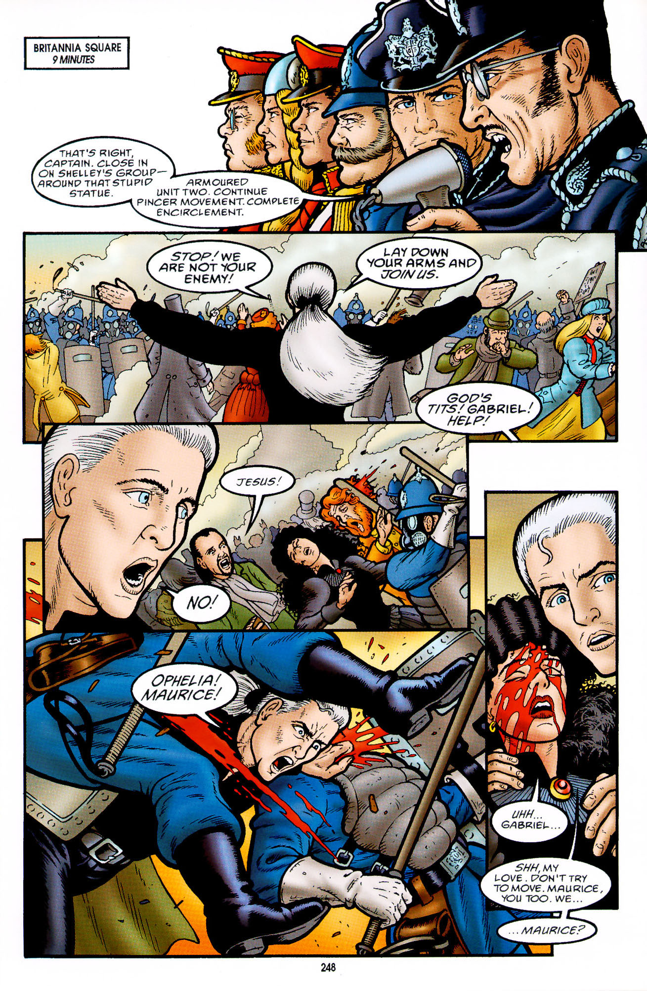 Read online Heart of Empire comic -  Issue #8 - 24