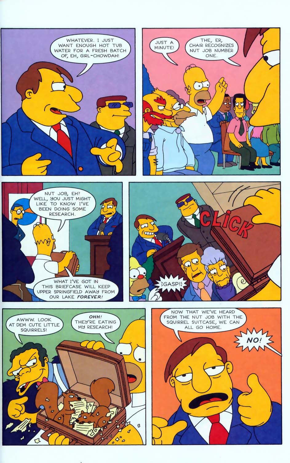 Read online Simpsons Comics comic -  Issue #50 - 8