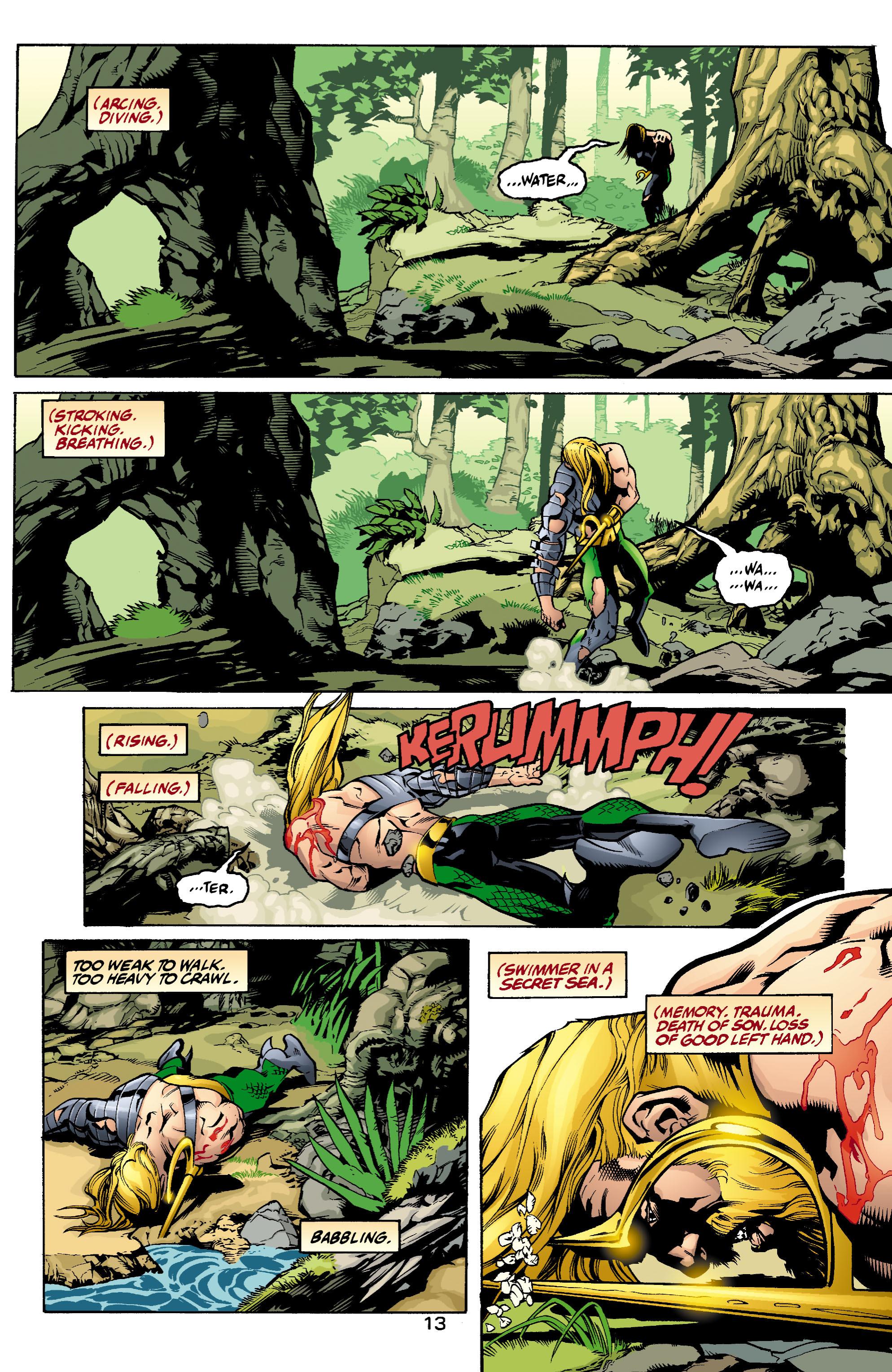 Read online Aquaman (2003) comic -  Issue #1 - 14