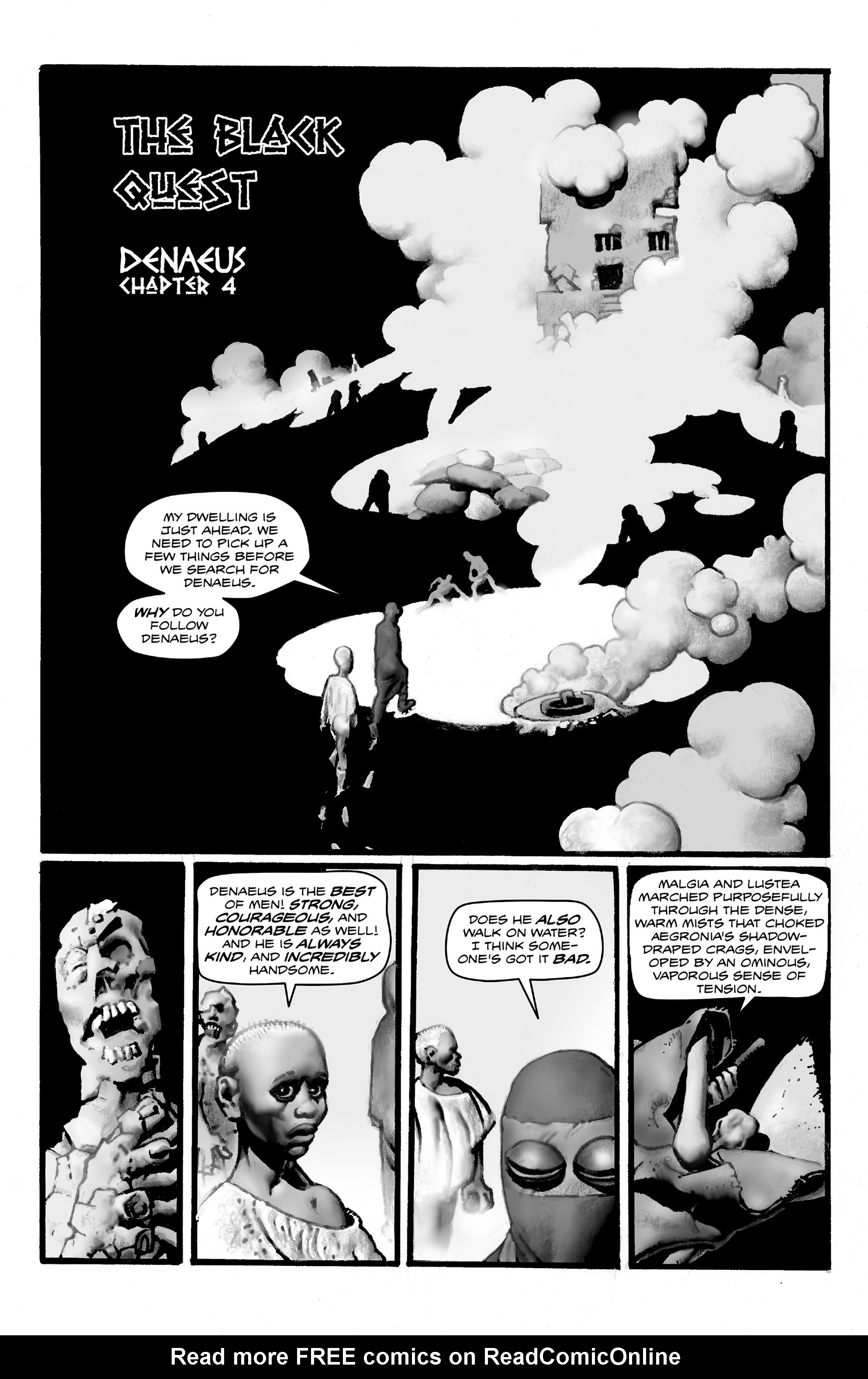 Read online Shadows on the Grave comic -  Issue #4 - 19