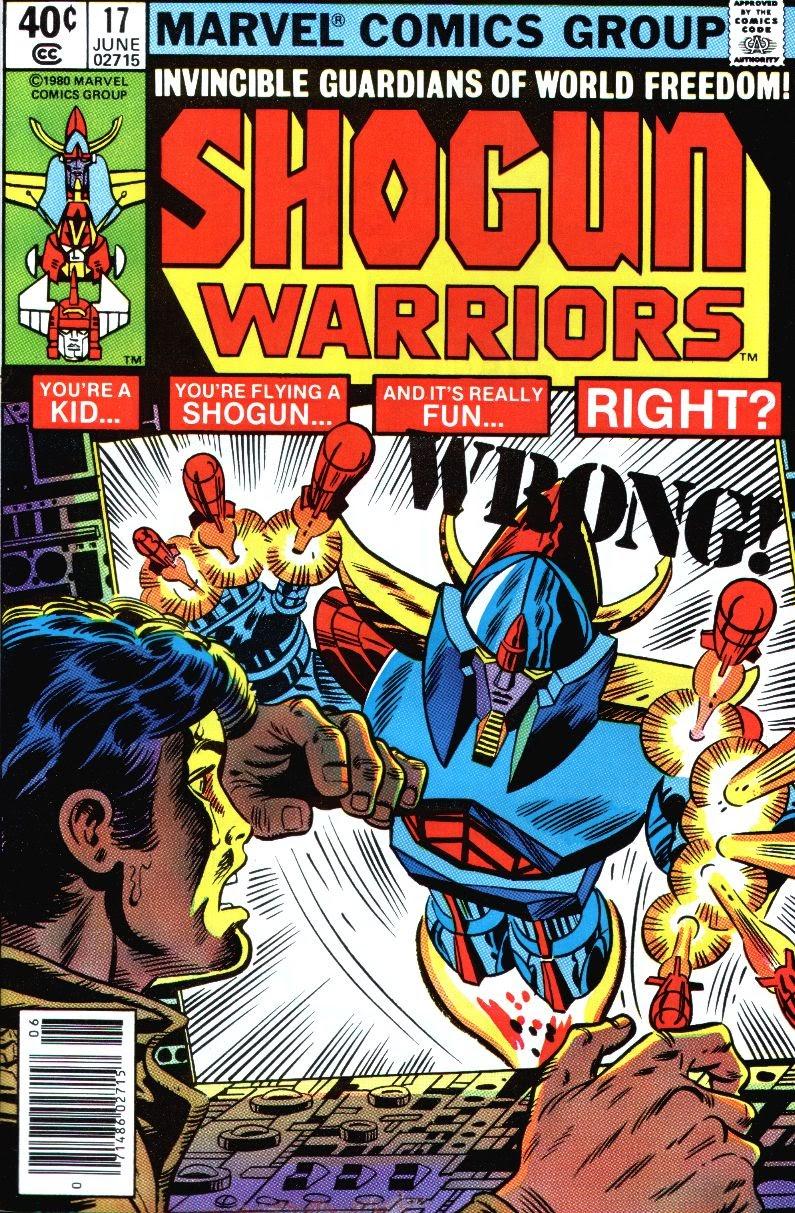 Shogun Warriors 17 Page 1