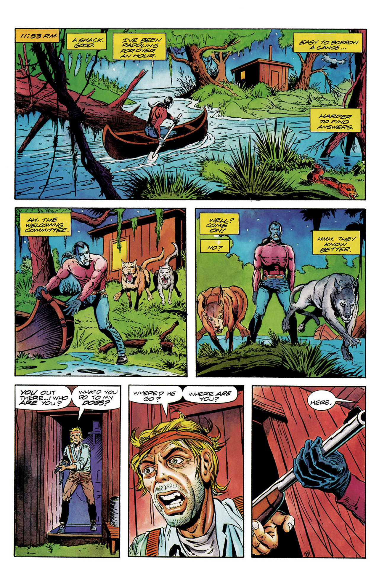 Read online Shadowman (1992) comic -  Issue #6 - 12
