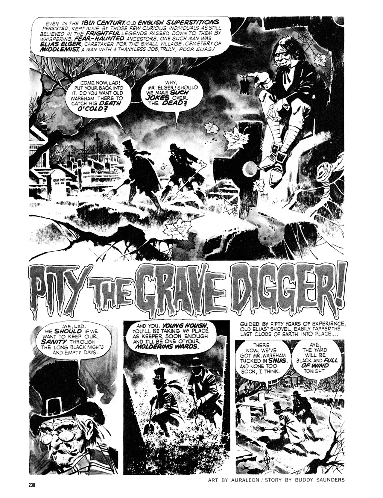Read online Eerie Archives comic -  Issue # TPB 8 - 239