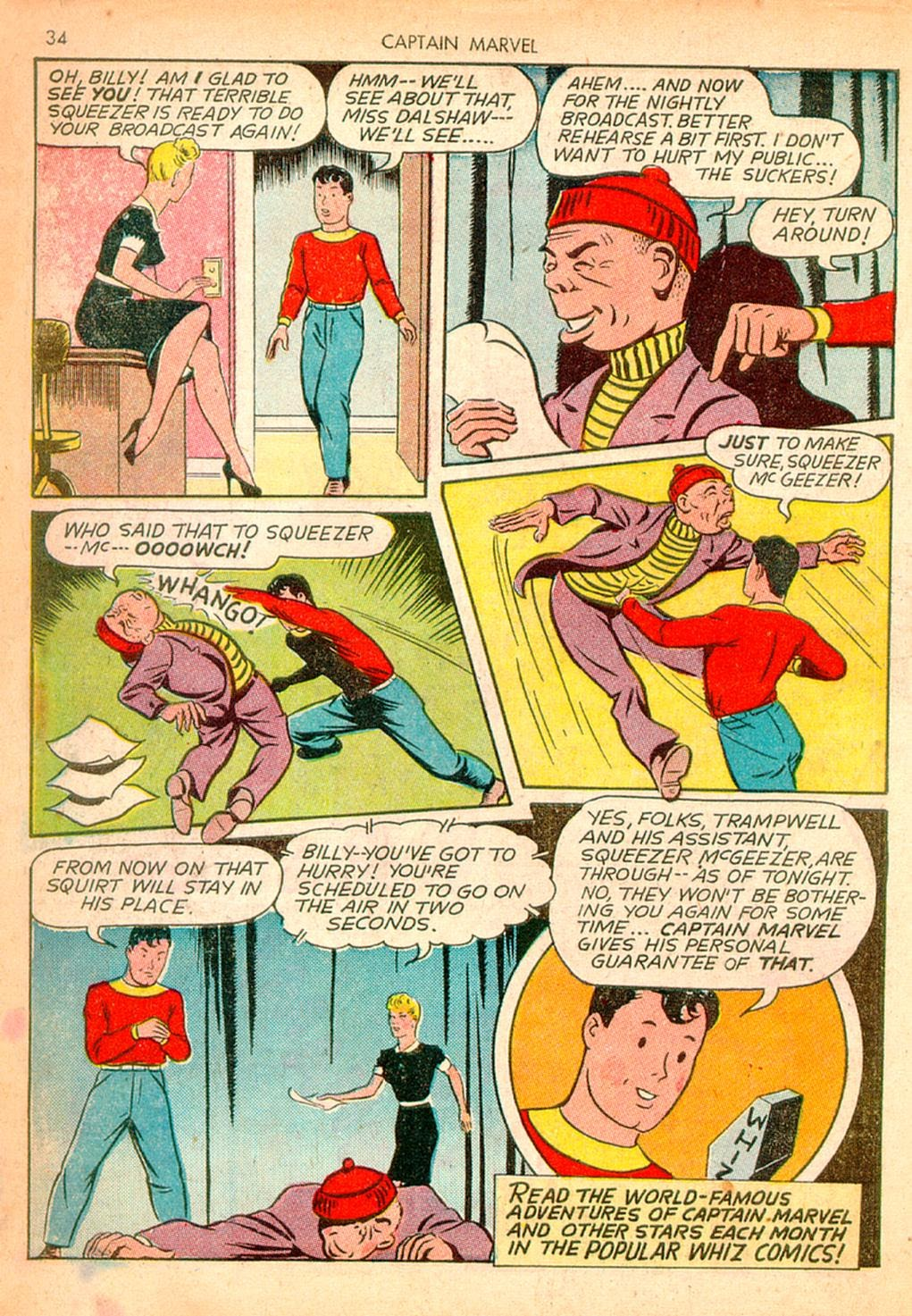 Captain Marvel Adventures issue 10 - Page 34