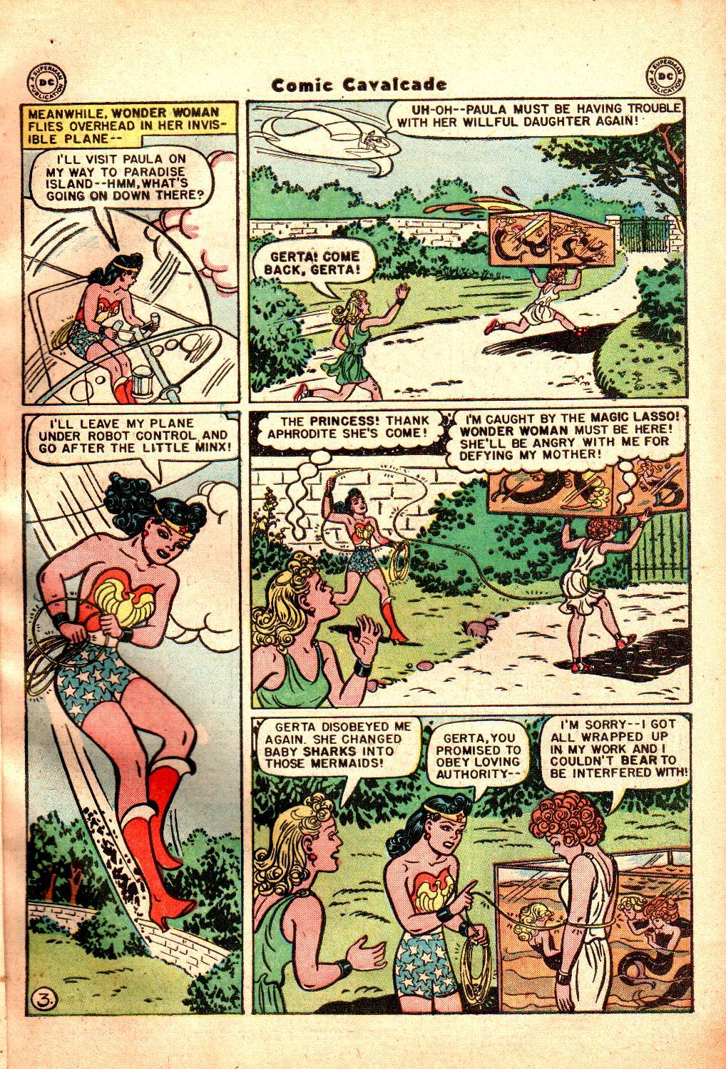 Comic Cavalcade issue 21 - Page 5
