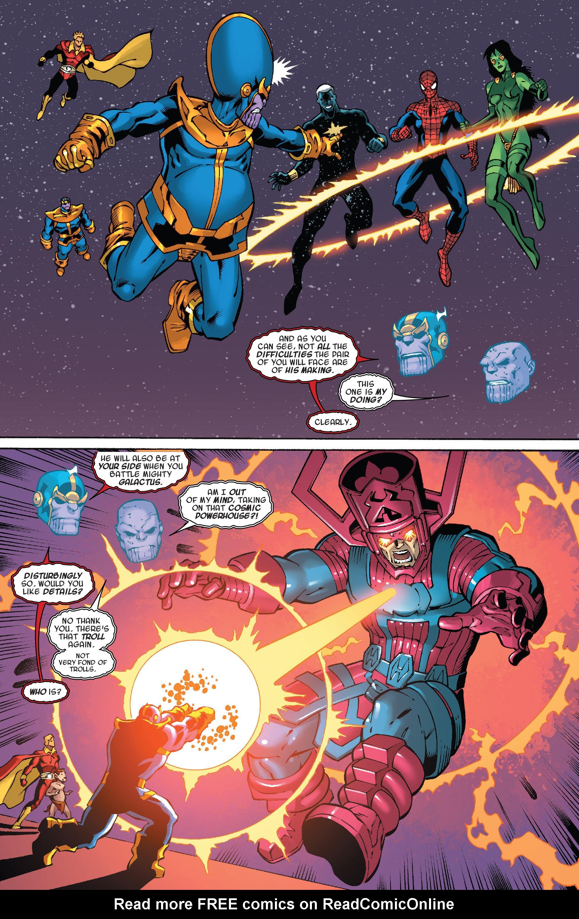 Read online Thanos Annual comic -  Issue # Annual - 23