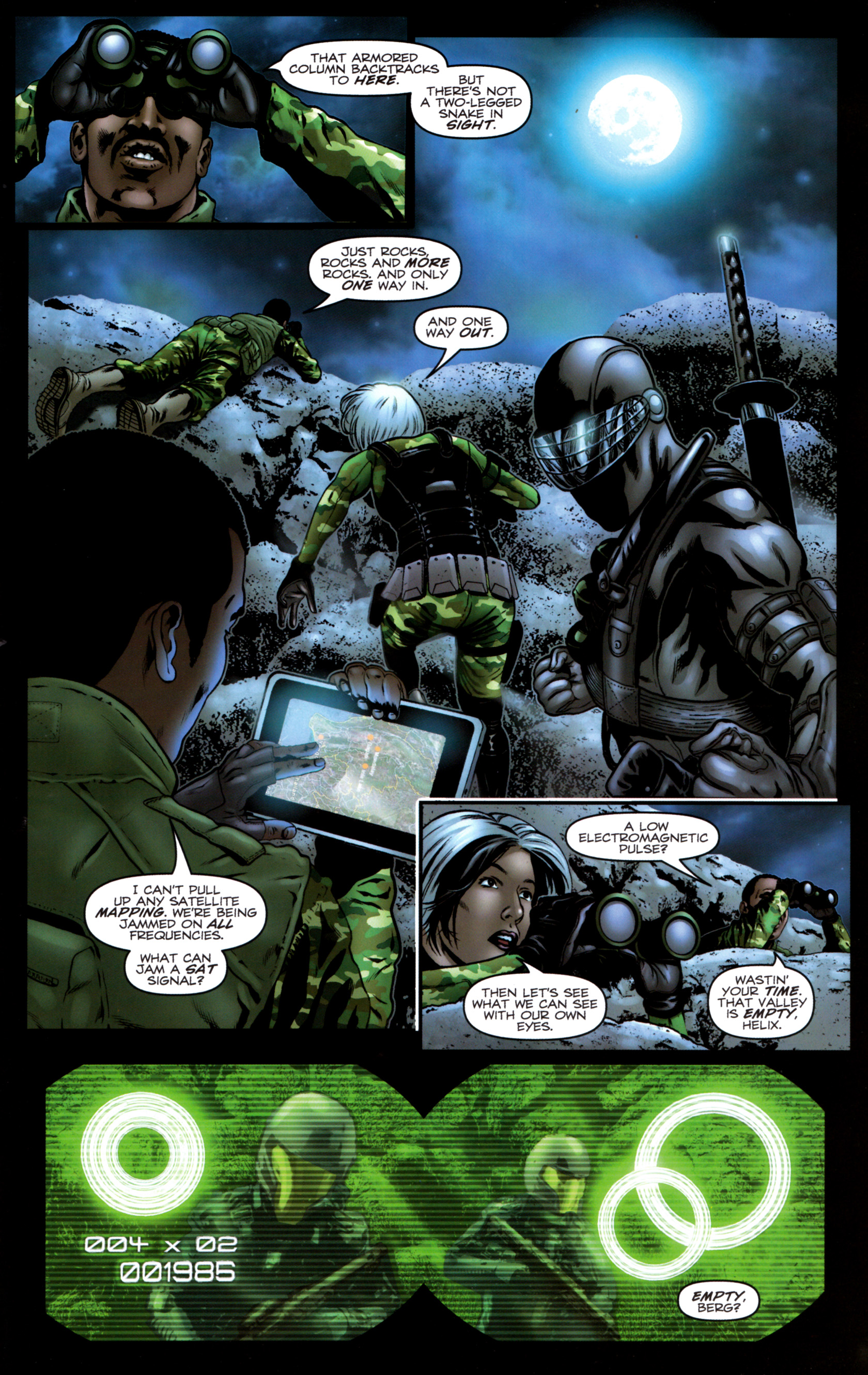 Read online G.I. Joe: Snake Eyes comic -  Issue #9 - 14