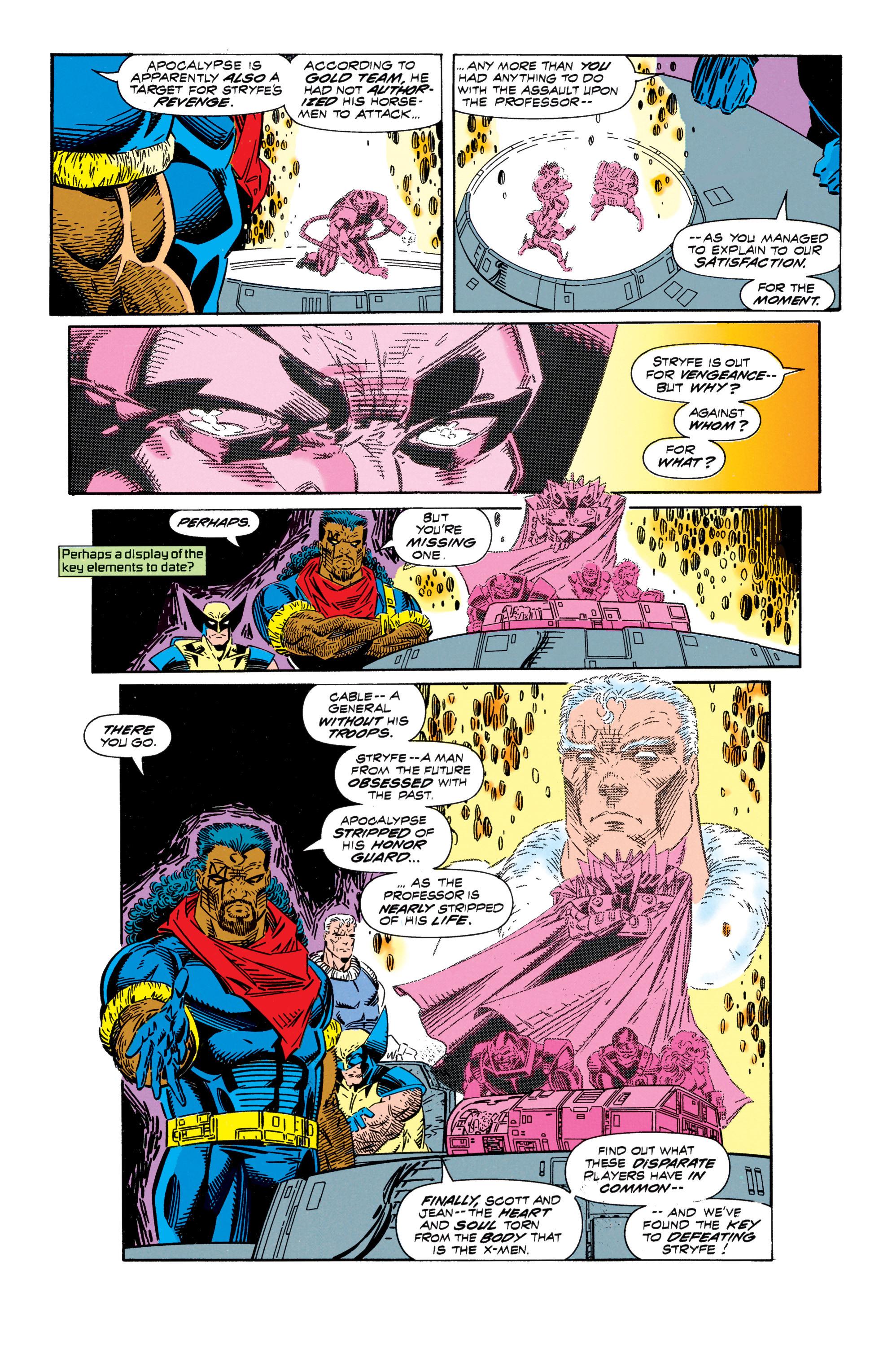 Read online Uncanny X-Men (1963) comic -  Issue #296 - 10