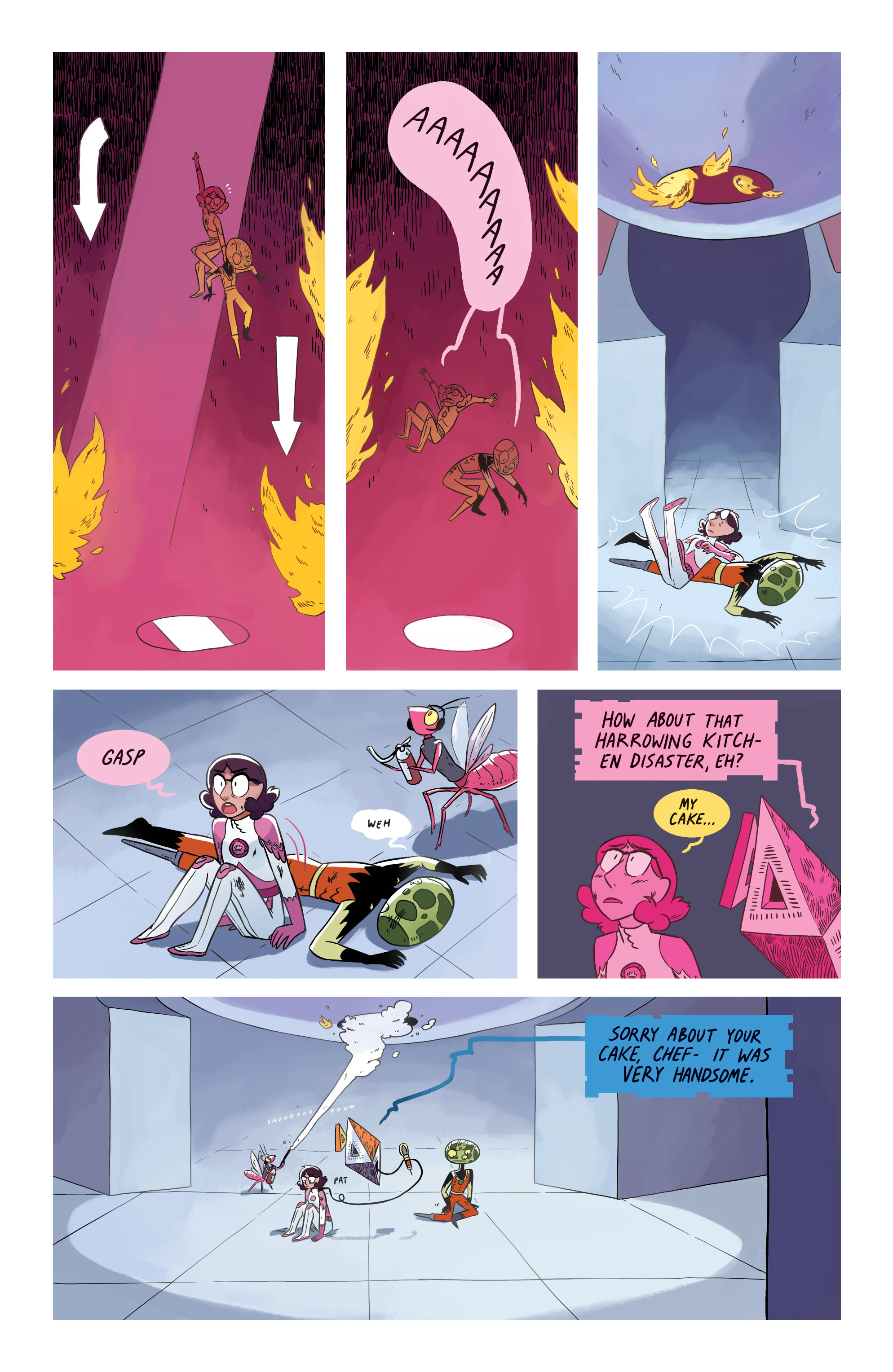 Read online Space Battle Lunchtime comic -  Issue #8 - 16