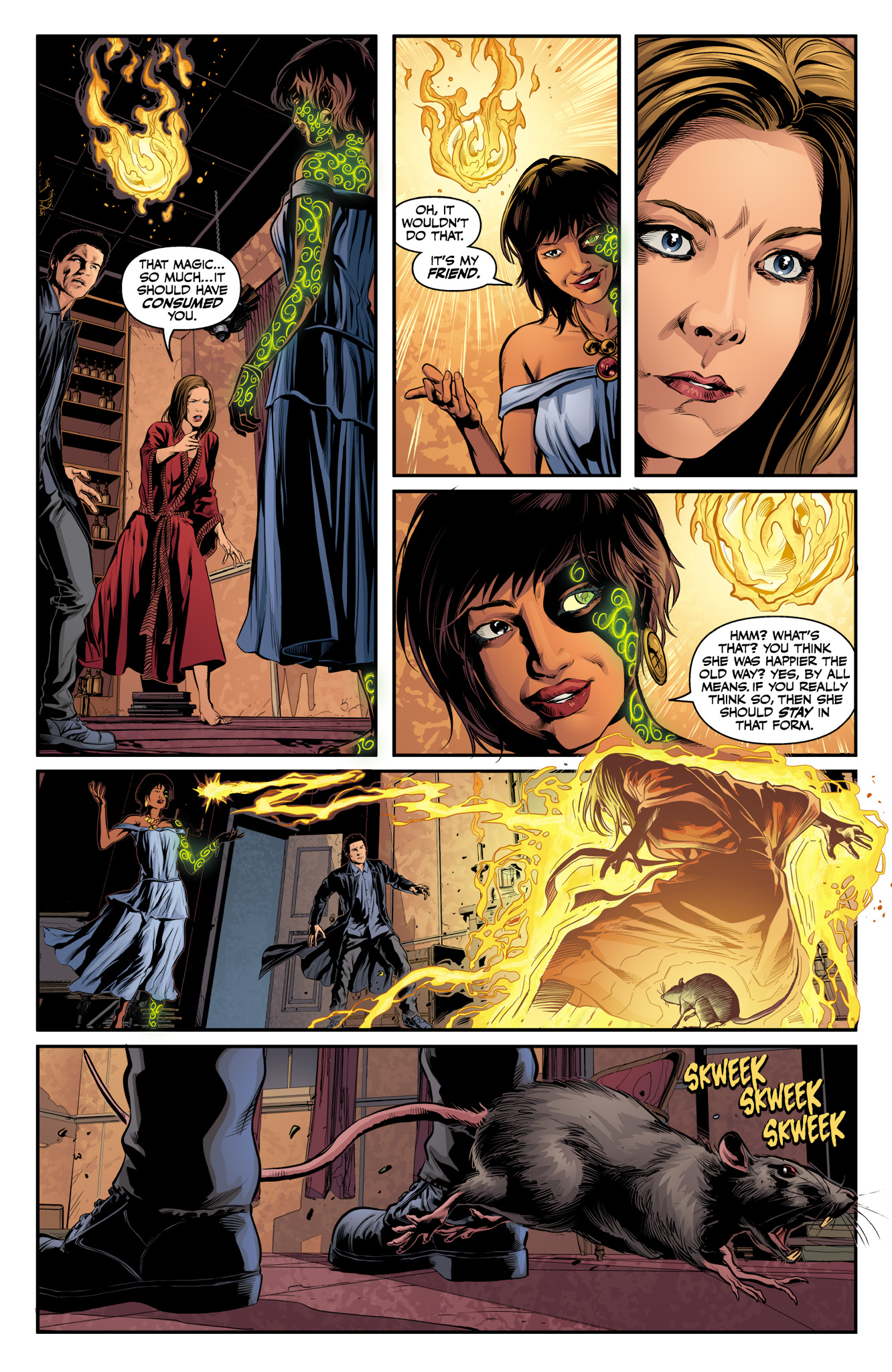 Read online Angel & Faith Season 10 comic -  Issue #10 - 20