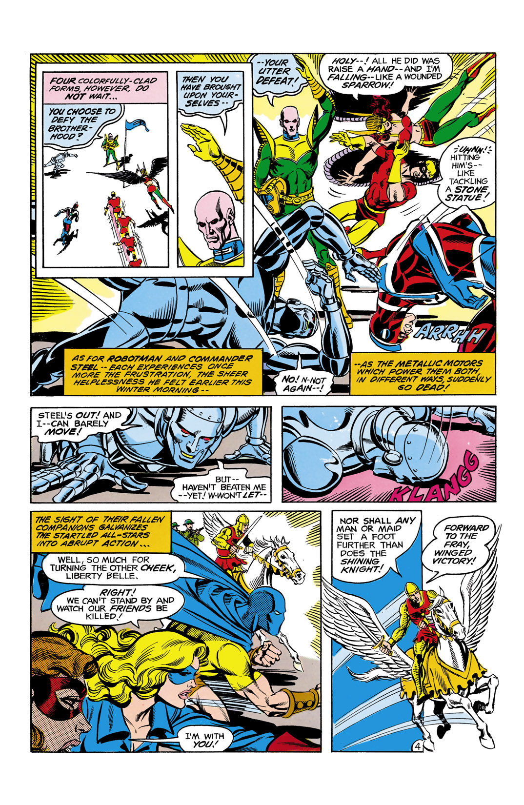Read online All-Star Squadron comic -  Issue #11 - 5