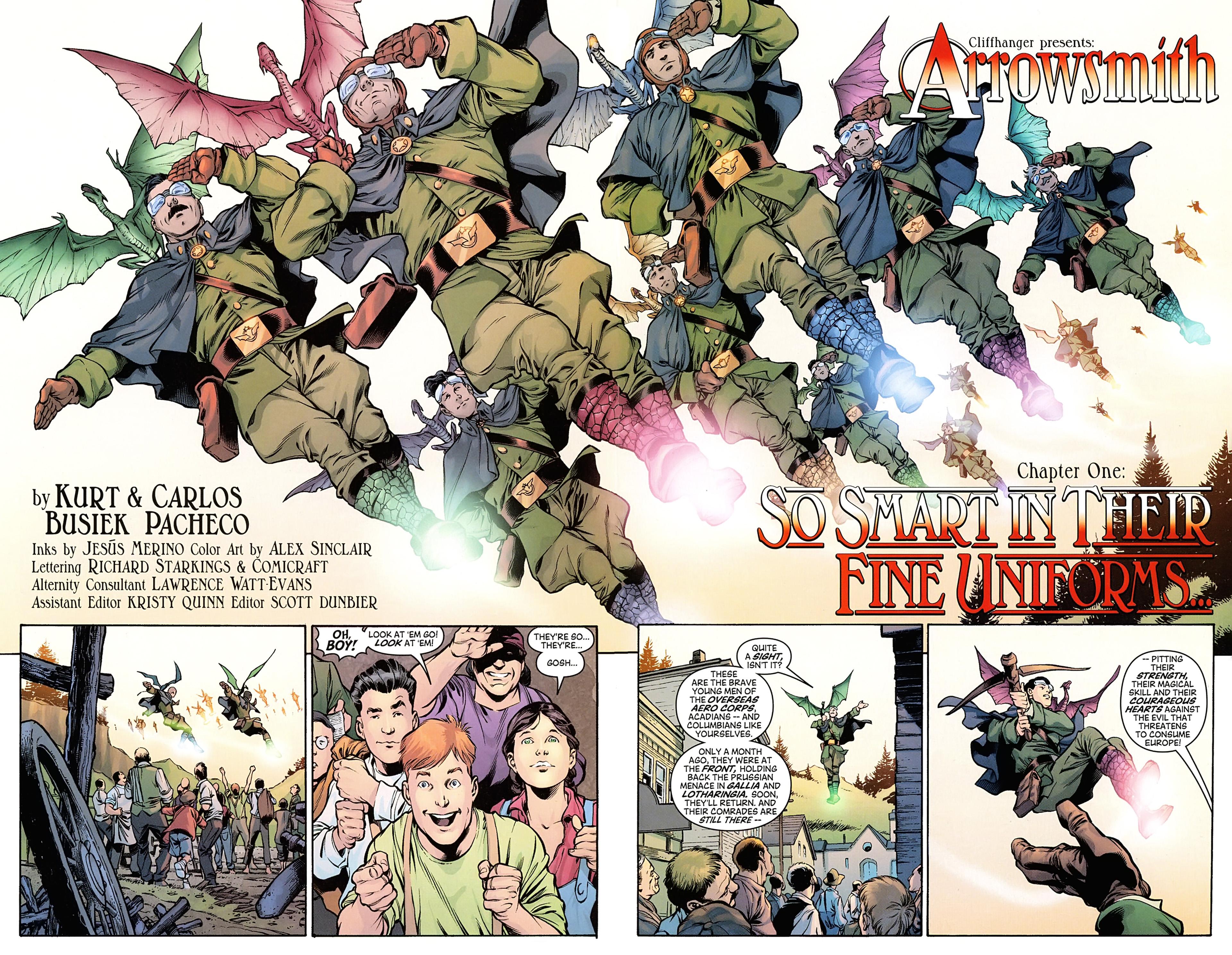 Read online Arrowsmith comic -  Issue #1 - 7