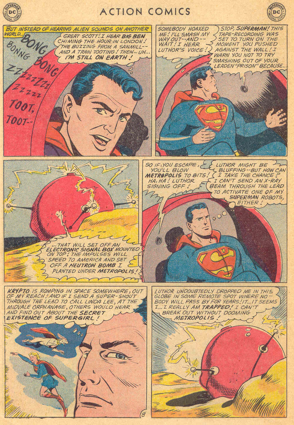 Read online Action Comics (1938) comic -  Issue #271 - 10