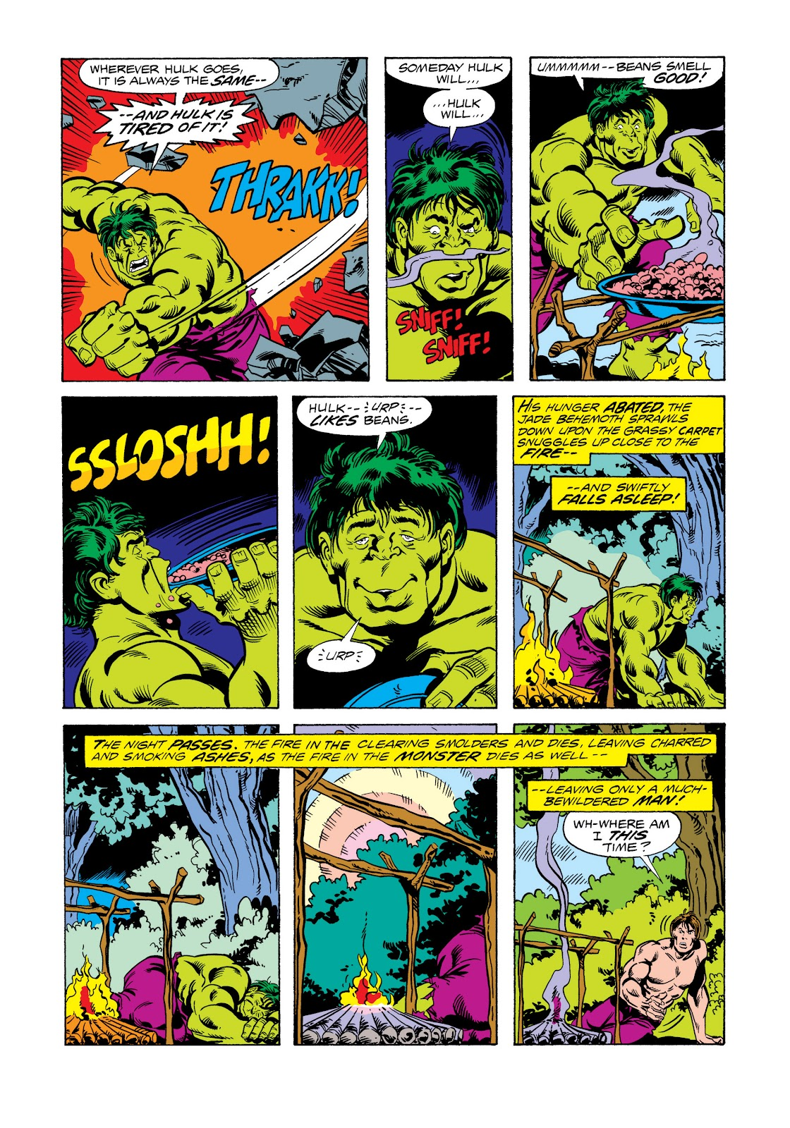 Read online Marvel Masterworks: The Incredible Hulk comic -  Issue # TPB 11 (Part 2) - 99
