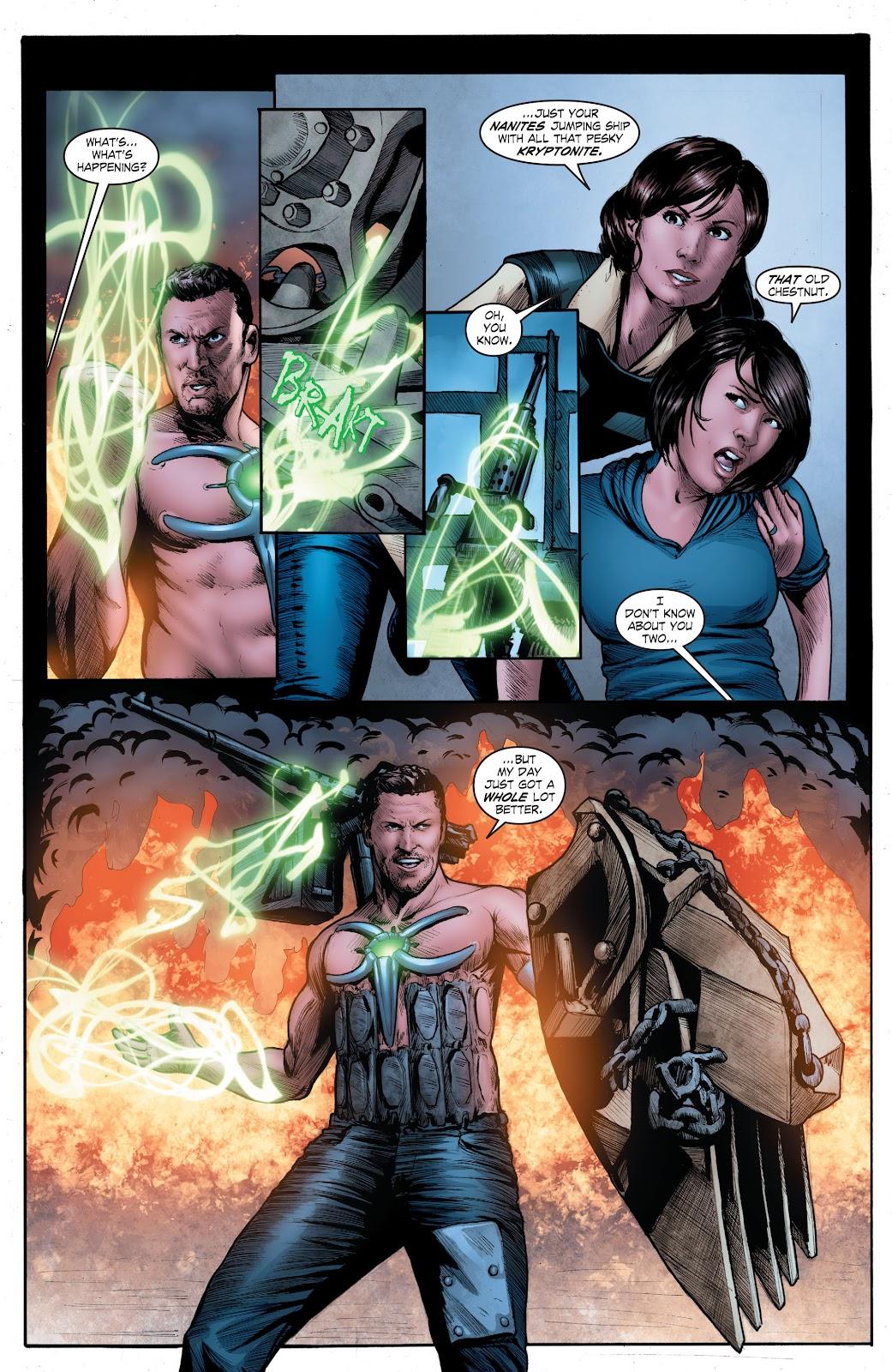 Read online Smallville Season 11 [II] comic -  Issue # TPB 4 - 132