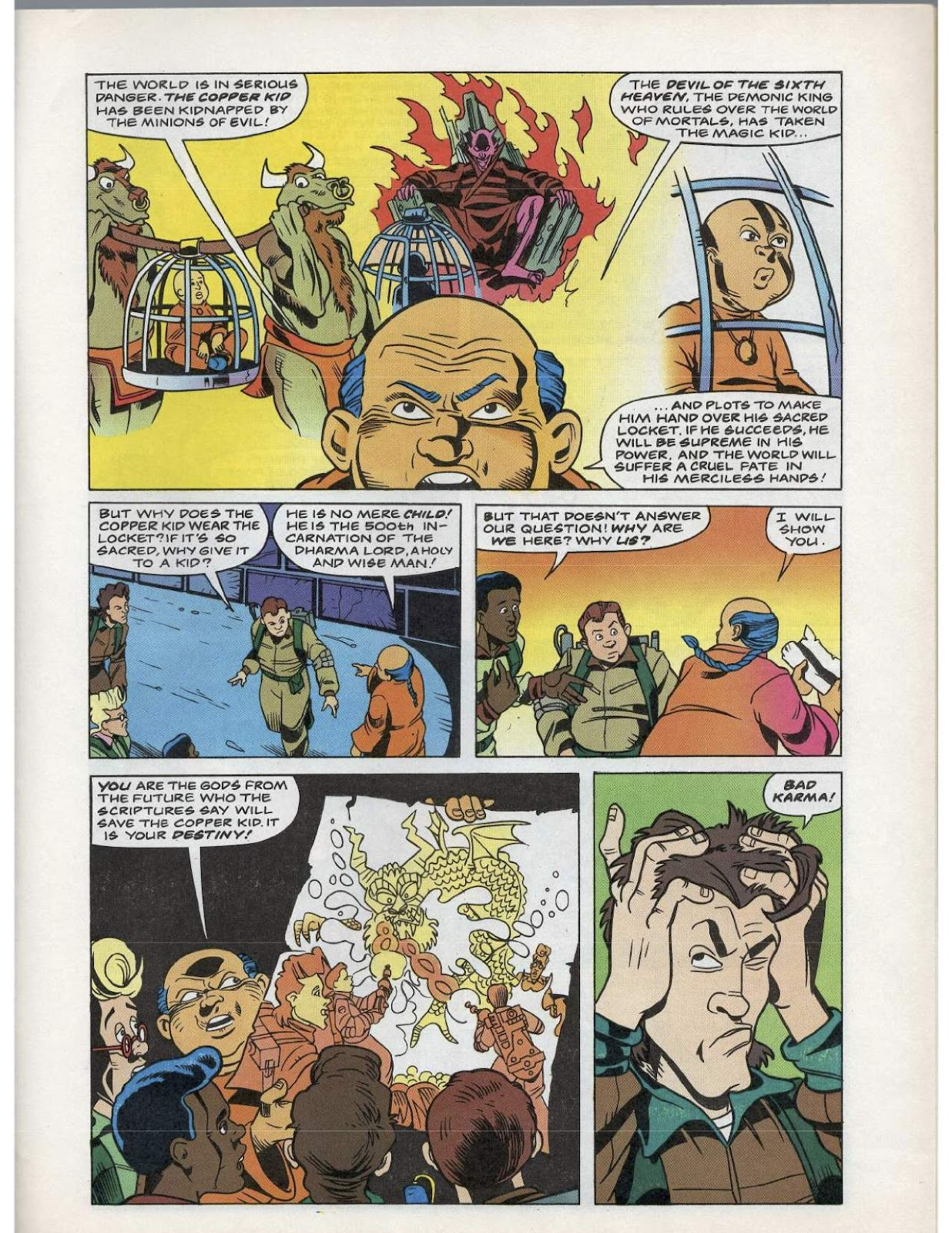 The Real Ghostbusters Issue #193 #167 - English 22