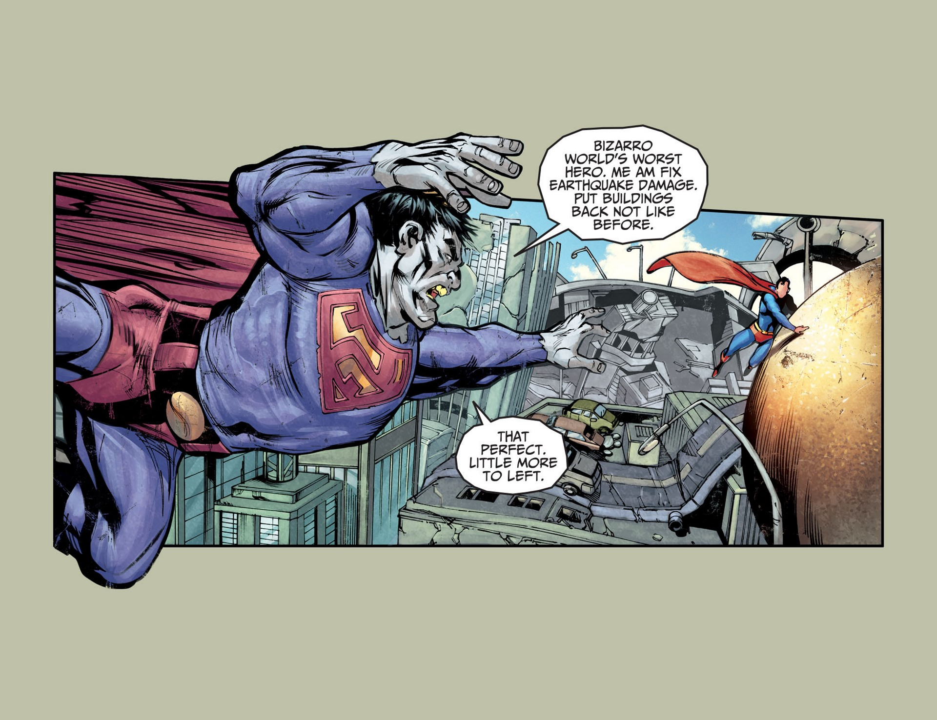 Read online Adventures of Superman [I] comic -  Issue #25 - 4
