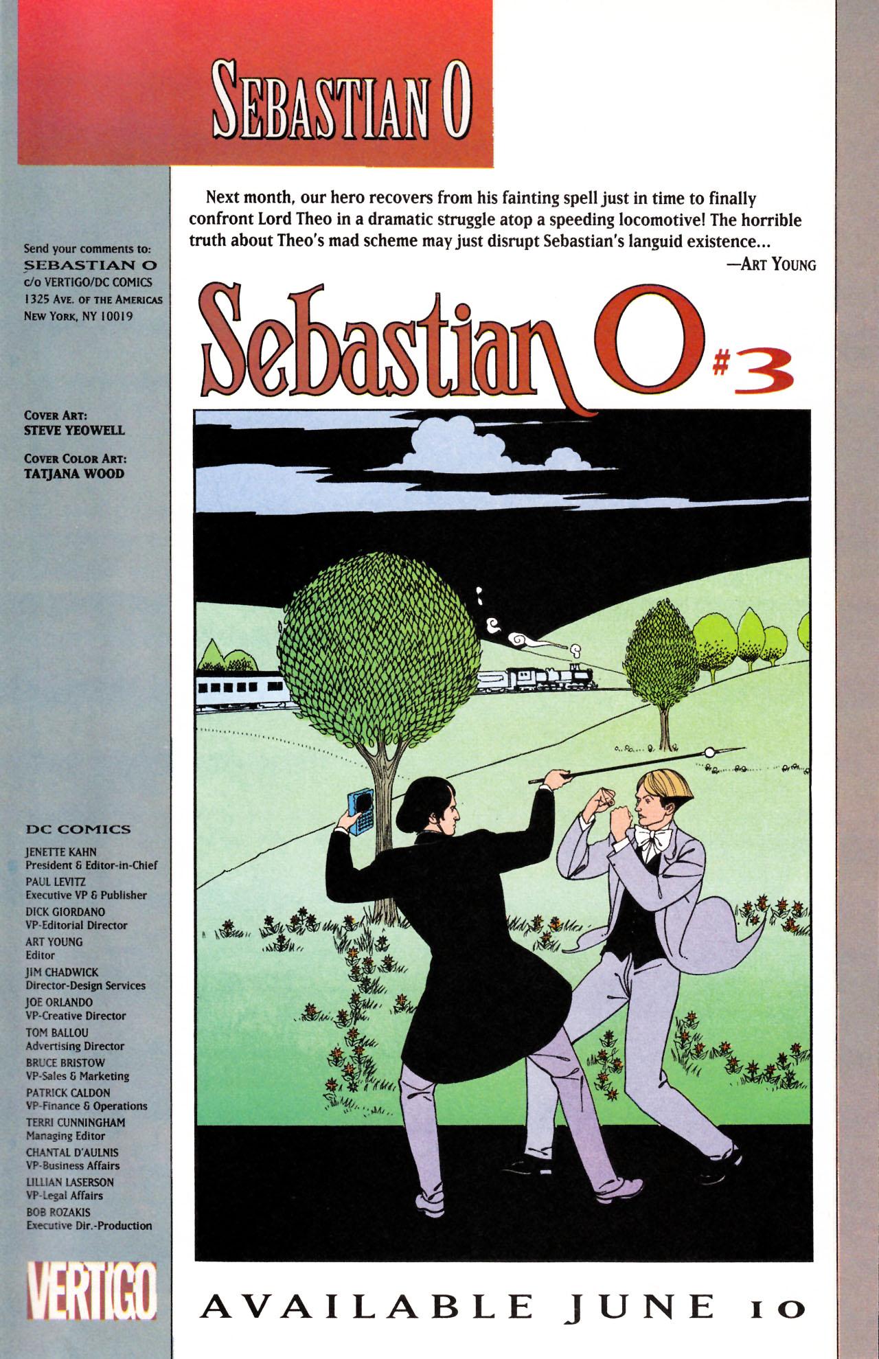 Read online Sebastian O comic -  Issue #2 - 31