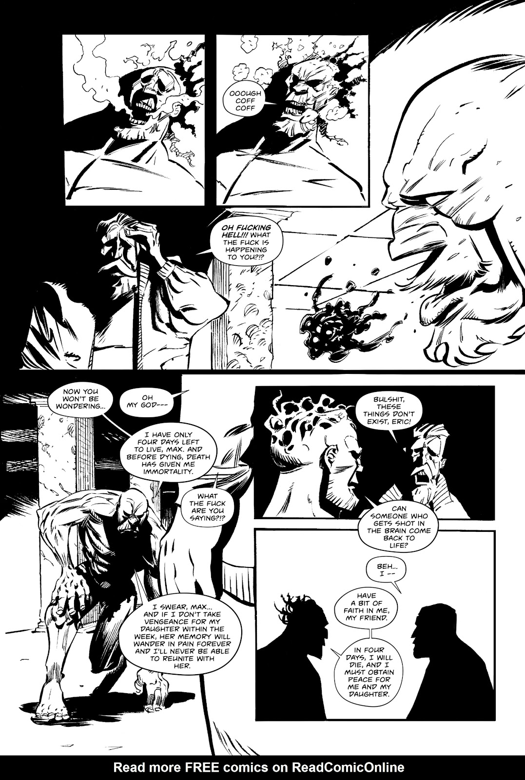 Read online Wrath of God comic -  Issue #3 - 18