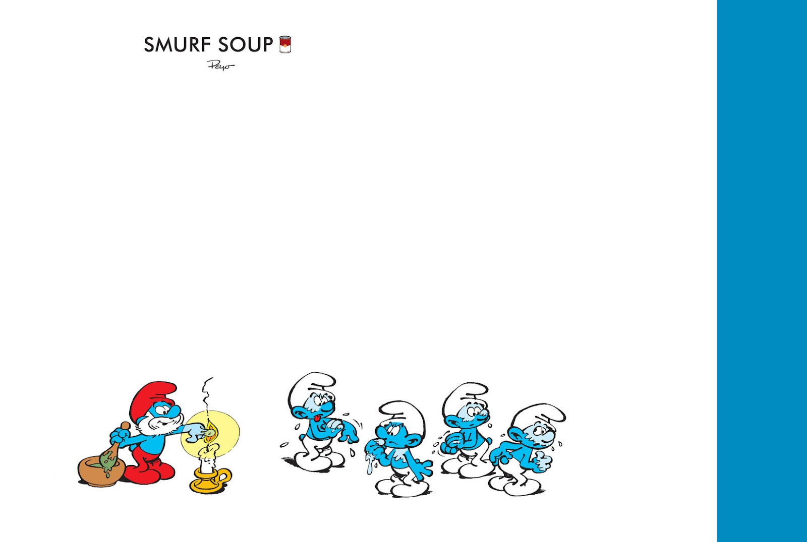 Read online The Smurfs comic -  Issue #13 - 2