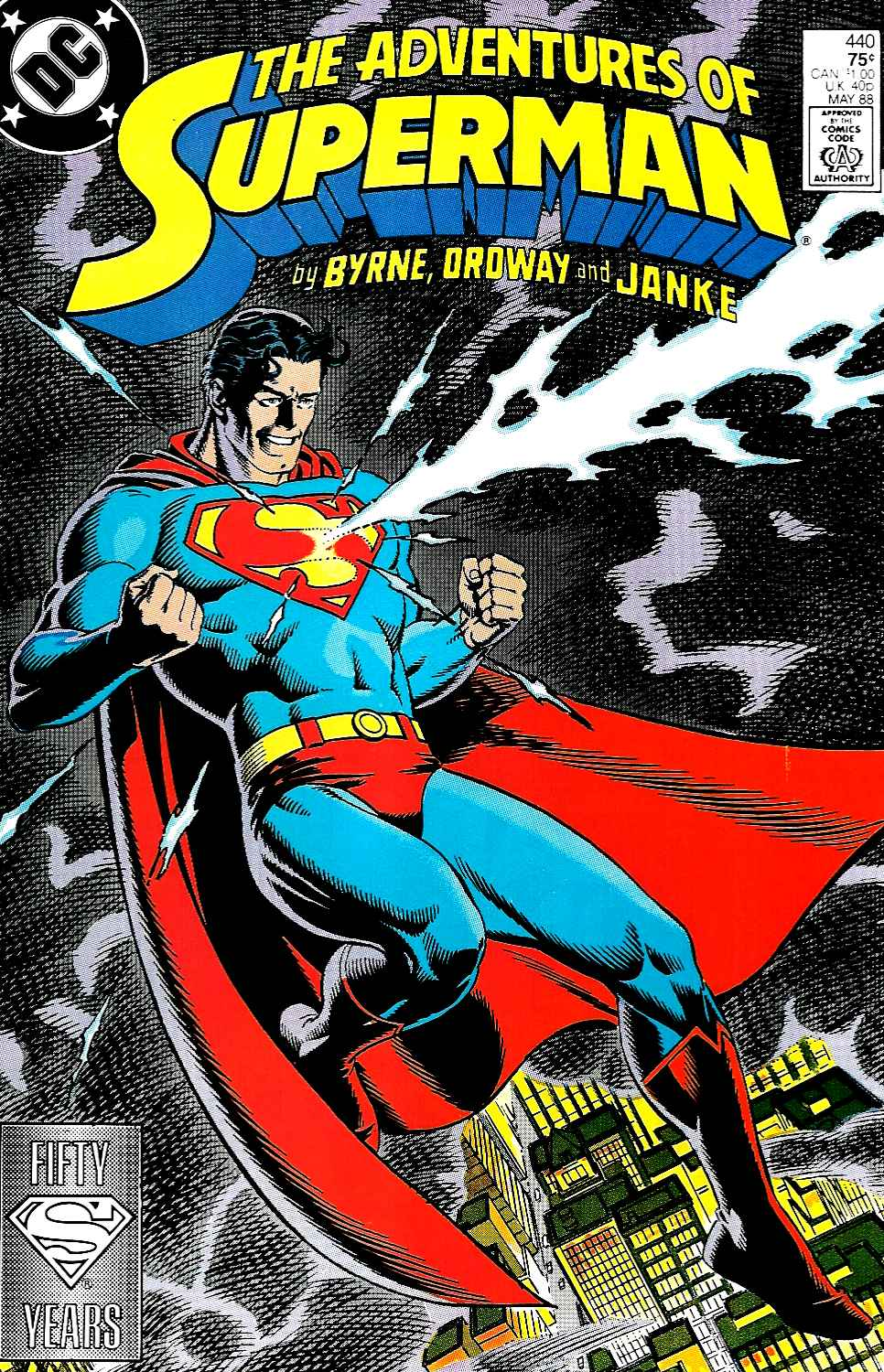Read online Adventures of Superman (1987) comic -  Issue #440 - 1