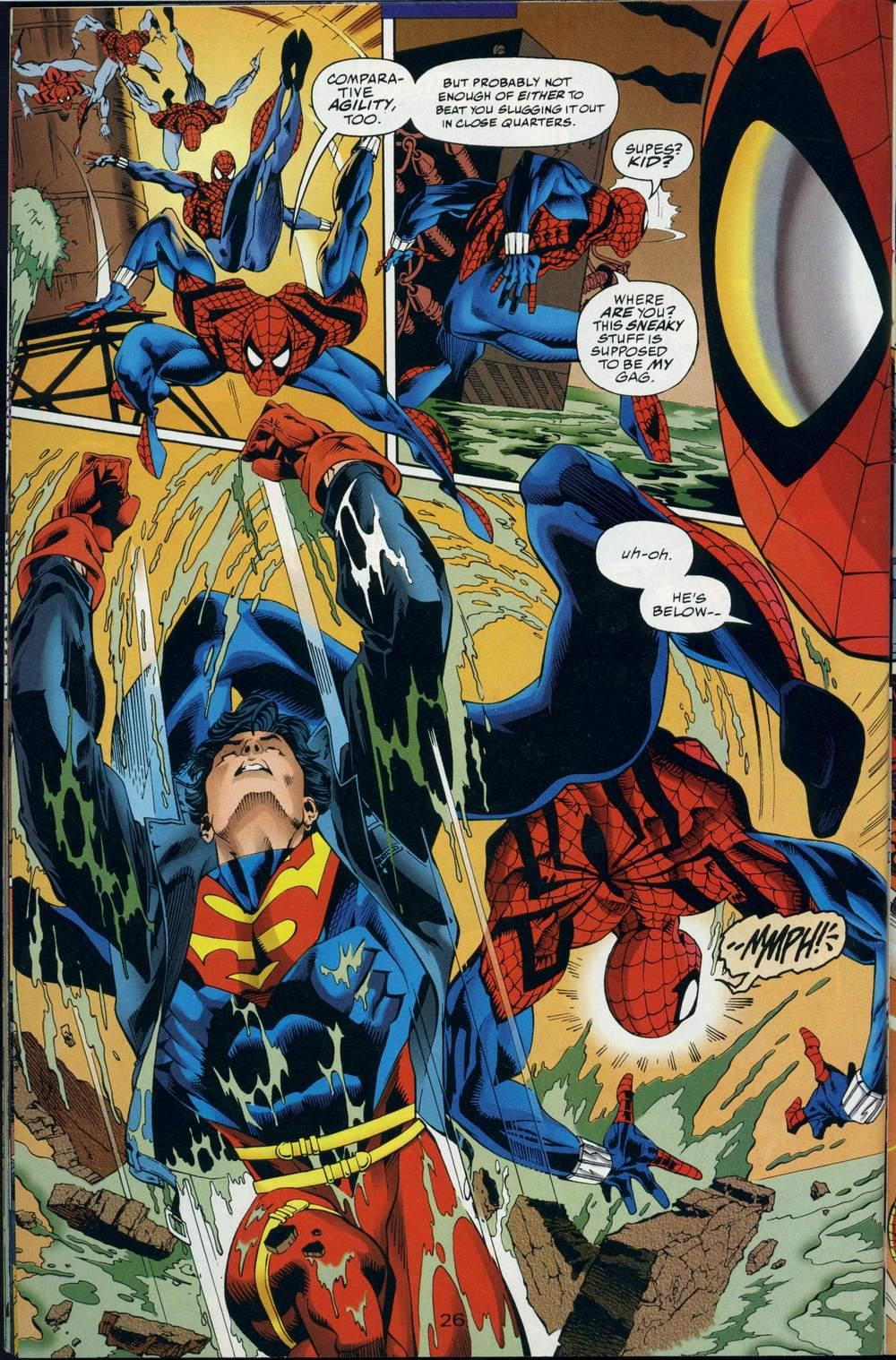 Read online DC Versus Marvel Comics comic -  Issue #3 - 27