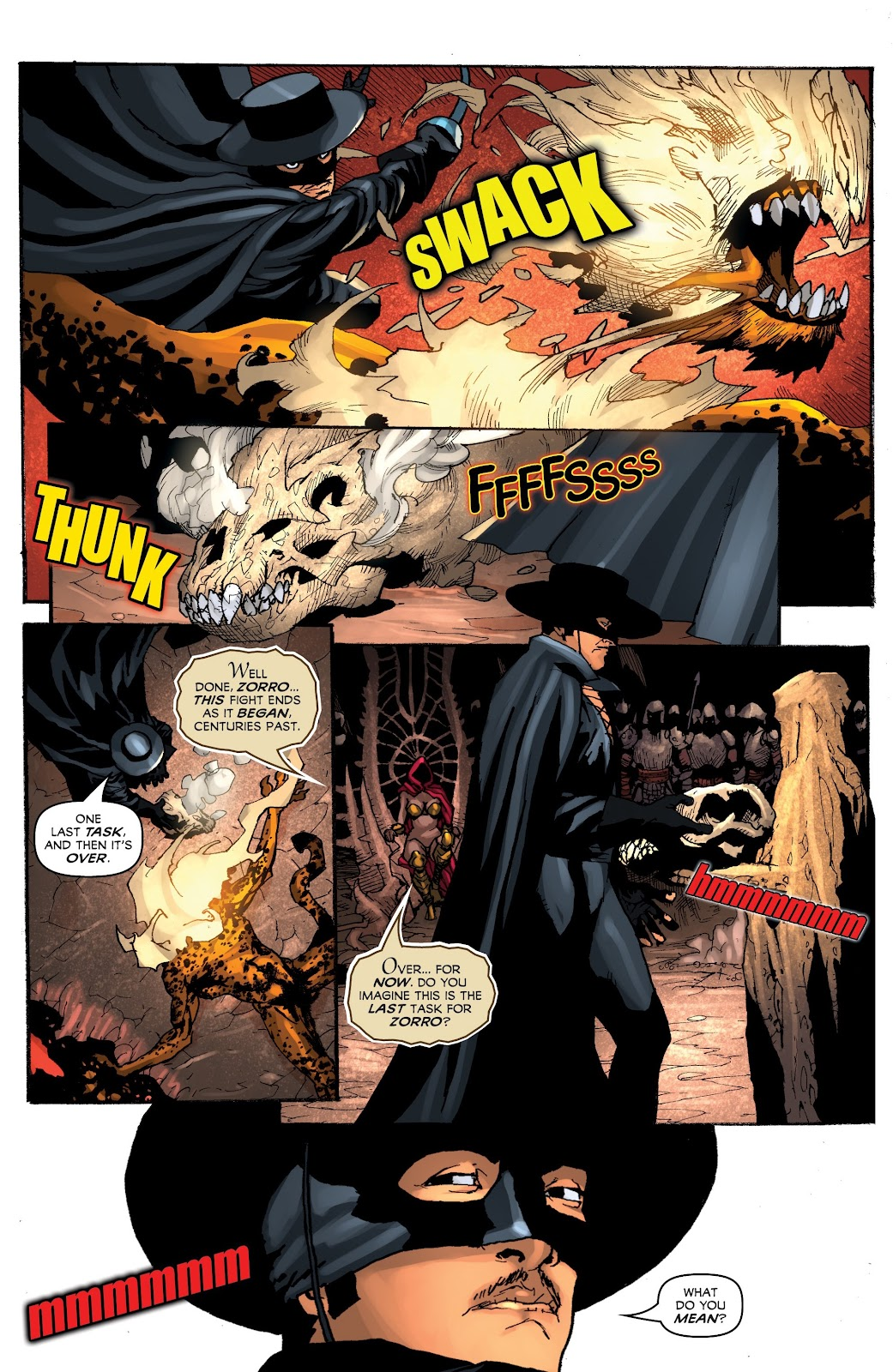 Read online Zorro: Swords of Hell comic -  Issue #4 - 20