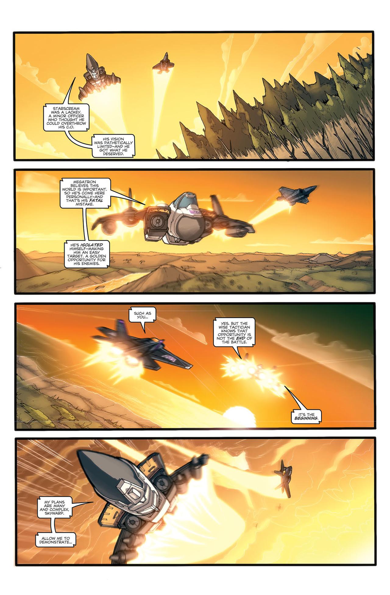 Read online Transformers Spotlight: Ramjet comic -  Issue # Full - 5