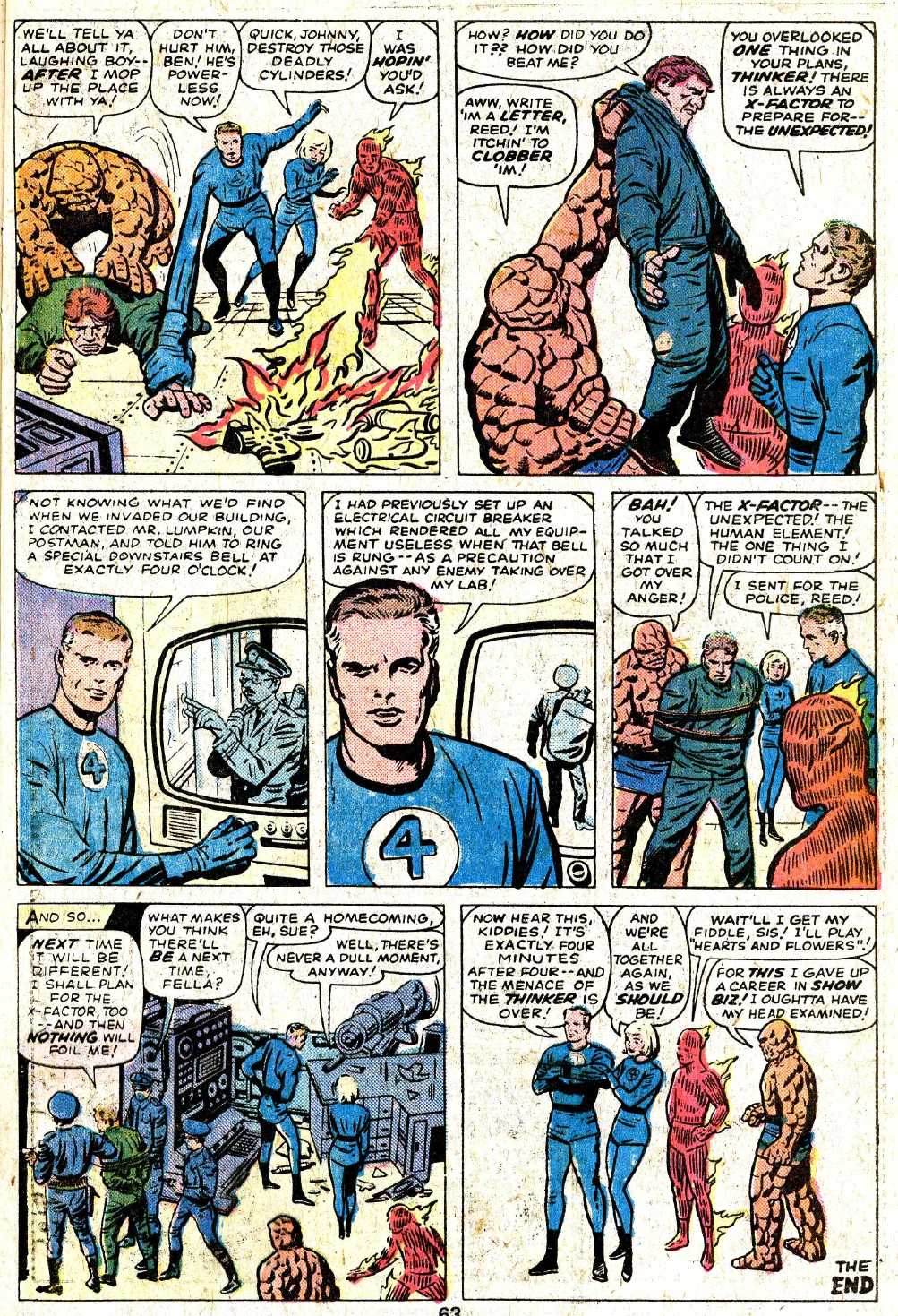 Giant-Size Fantastic Four issue 5 - Page 65