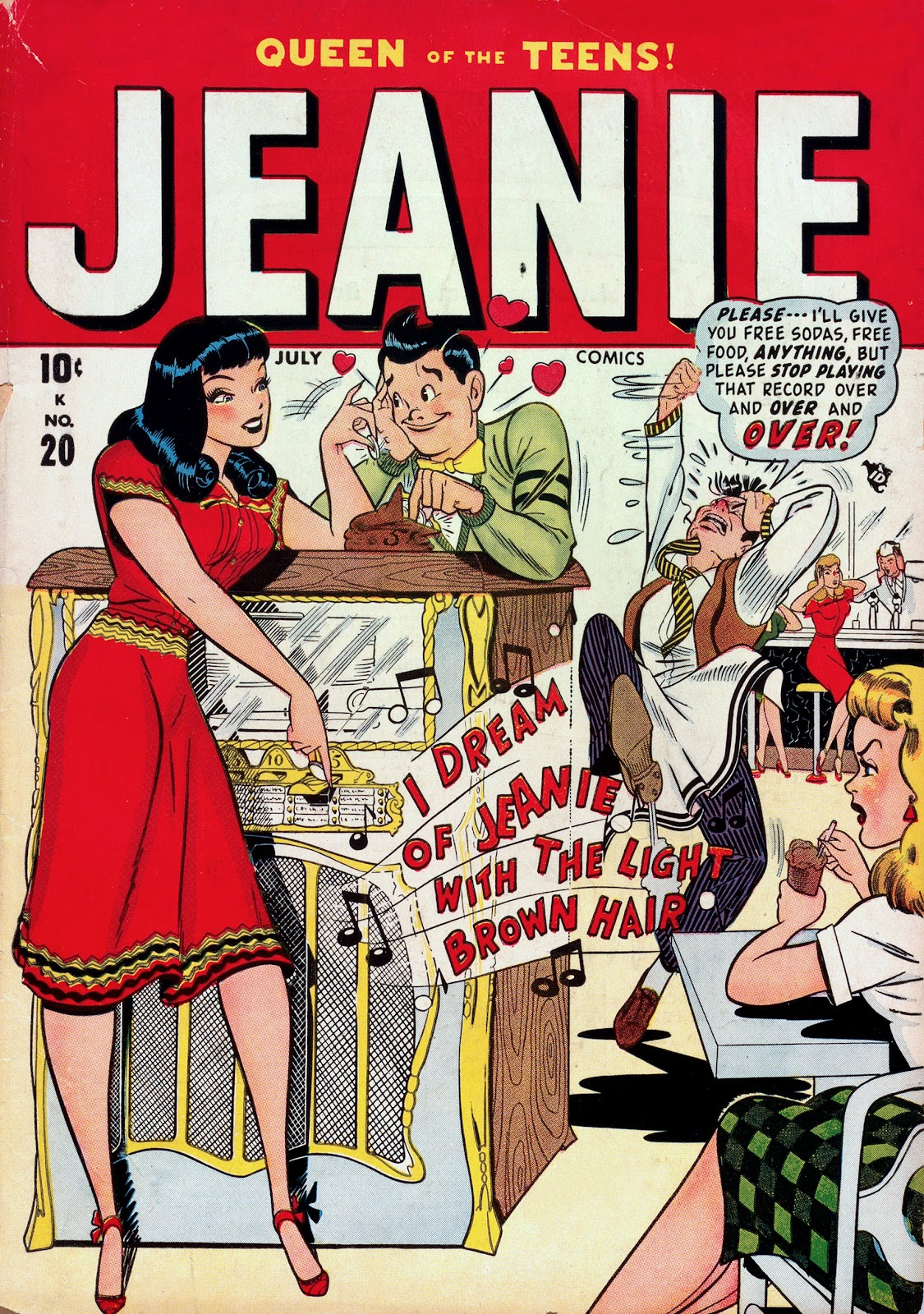 Jeanie Comics 20 Page 1