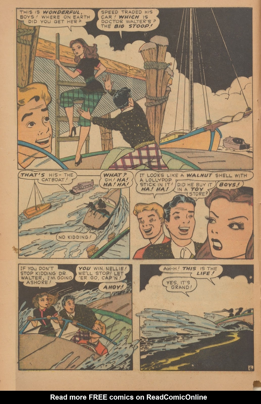 Read online Nellie The Nurse (1945) comic -  Issue #9 - 8