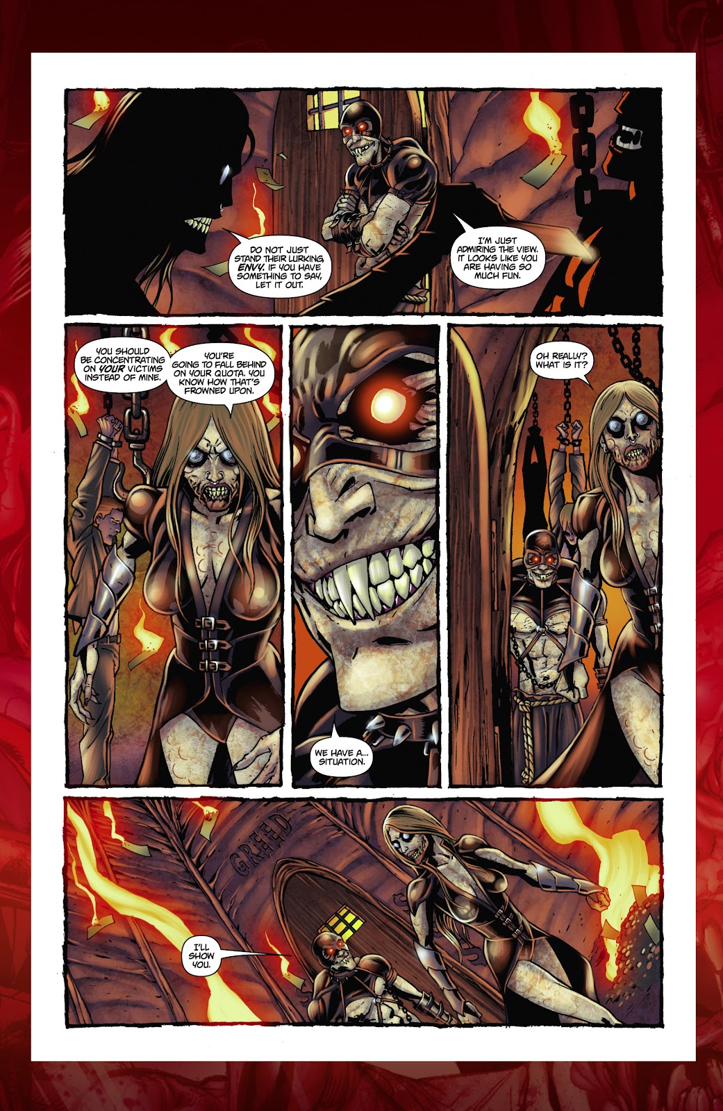 Army of Darkness: The Long Road Home issue TPB - Page 114