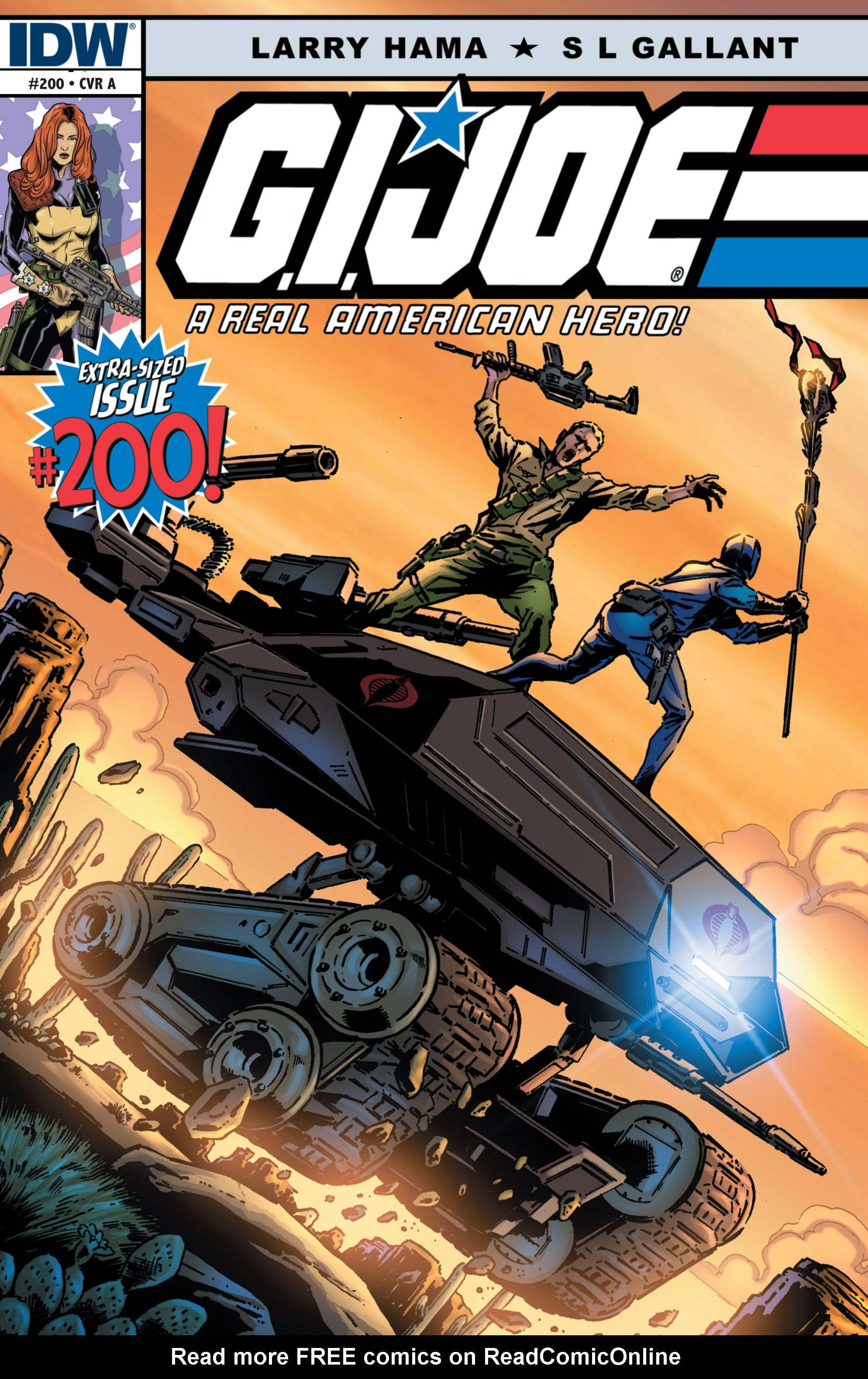 G.I. Joe: A Real American Hero 200 Page 1