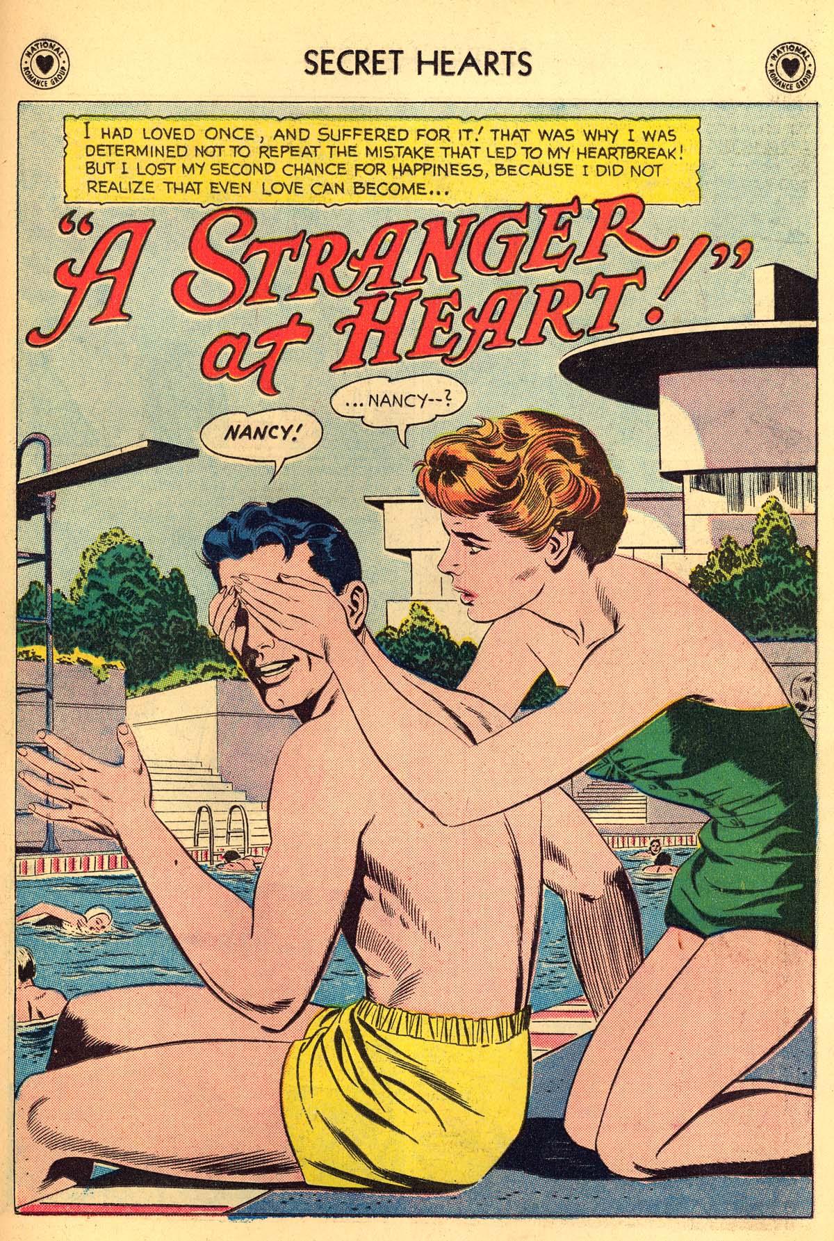Read online Secret Hearts comic -  Issue #55 - 27