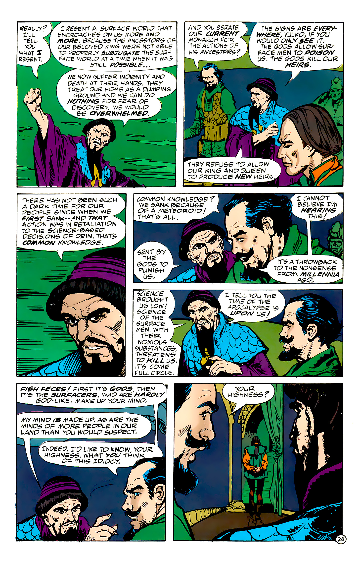 Read online Atlantis Chronicles comic -  Issue #7 - 25