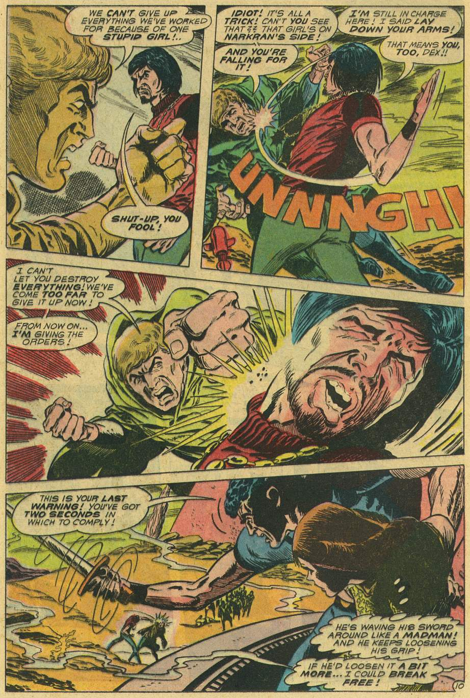 Read online Adventure Comics (1938) comic -  Issue #498 - 34