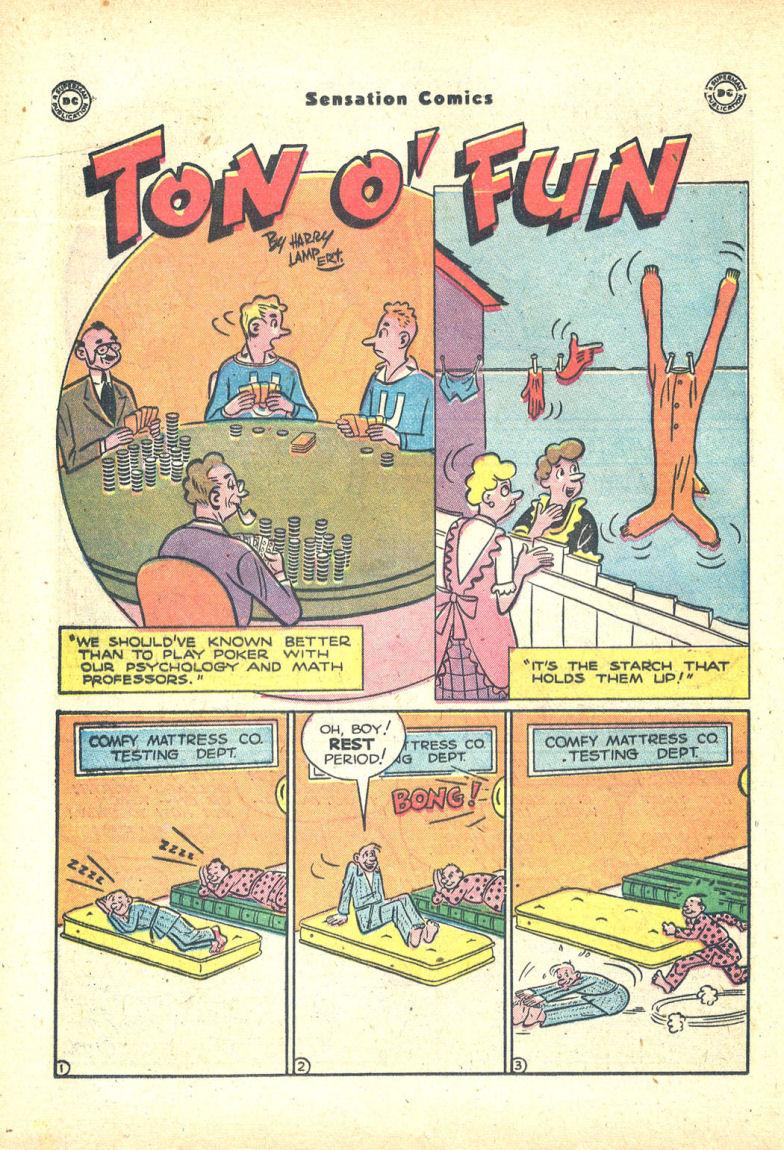 Read online Sensation (Mystery) Comics comic -  Issue #68 - 30