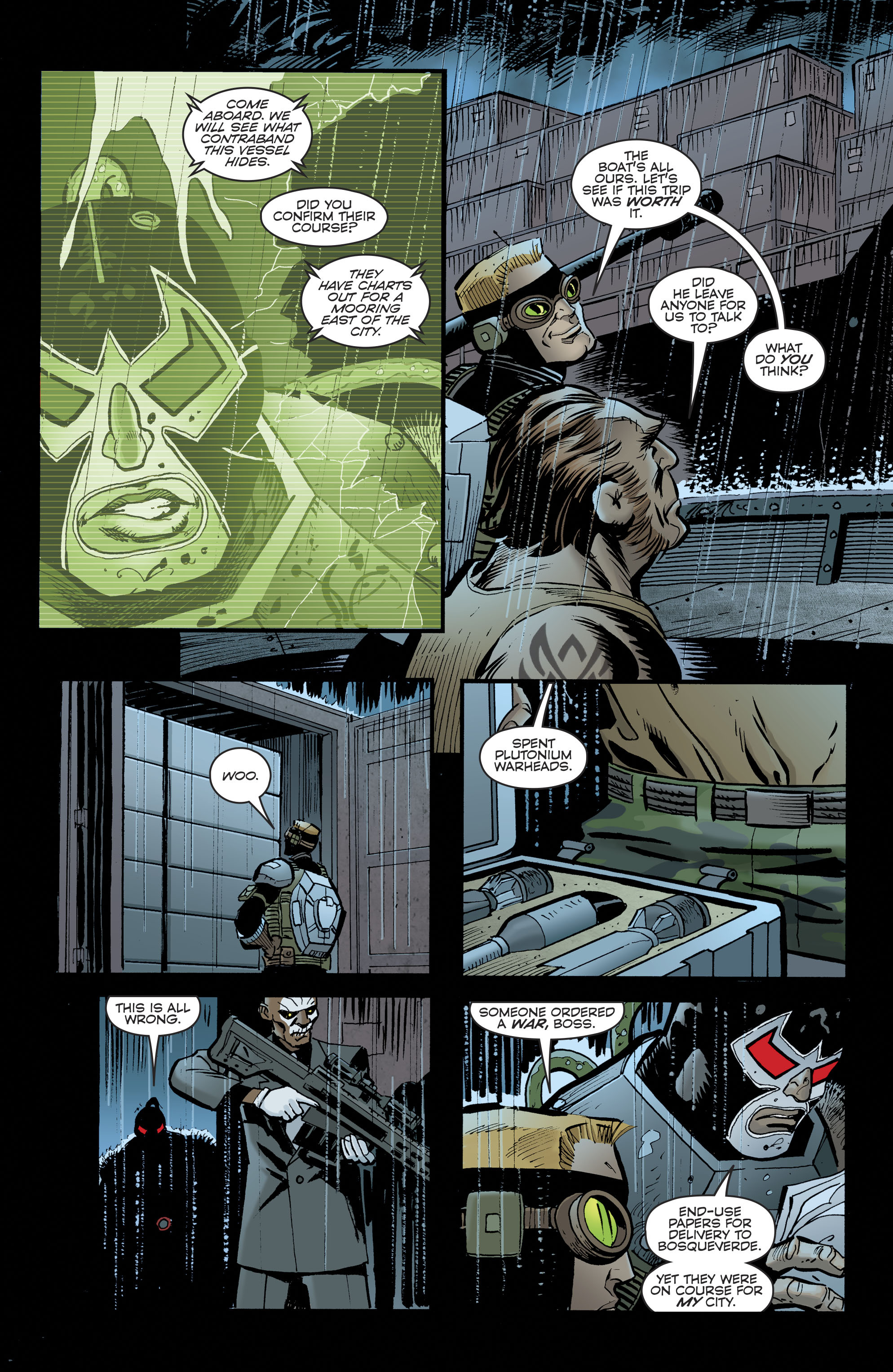 Read online Bane: Conquest comic -  Issue #1 - 9