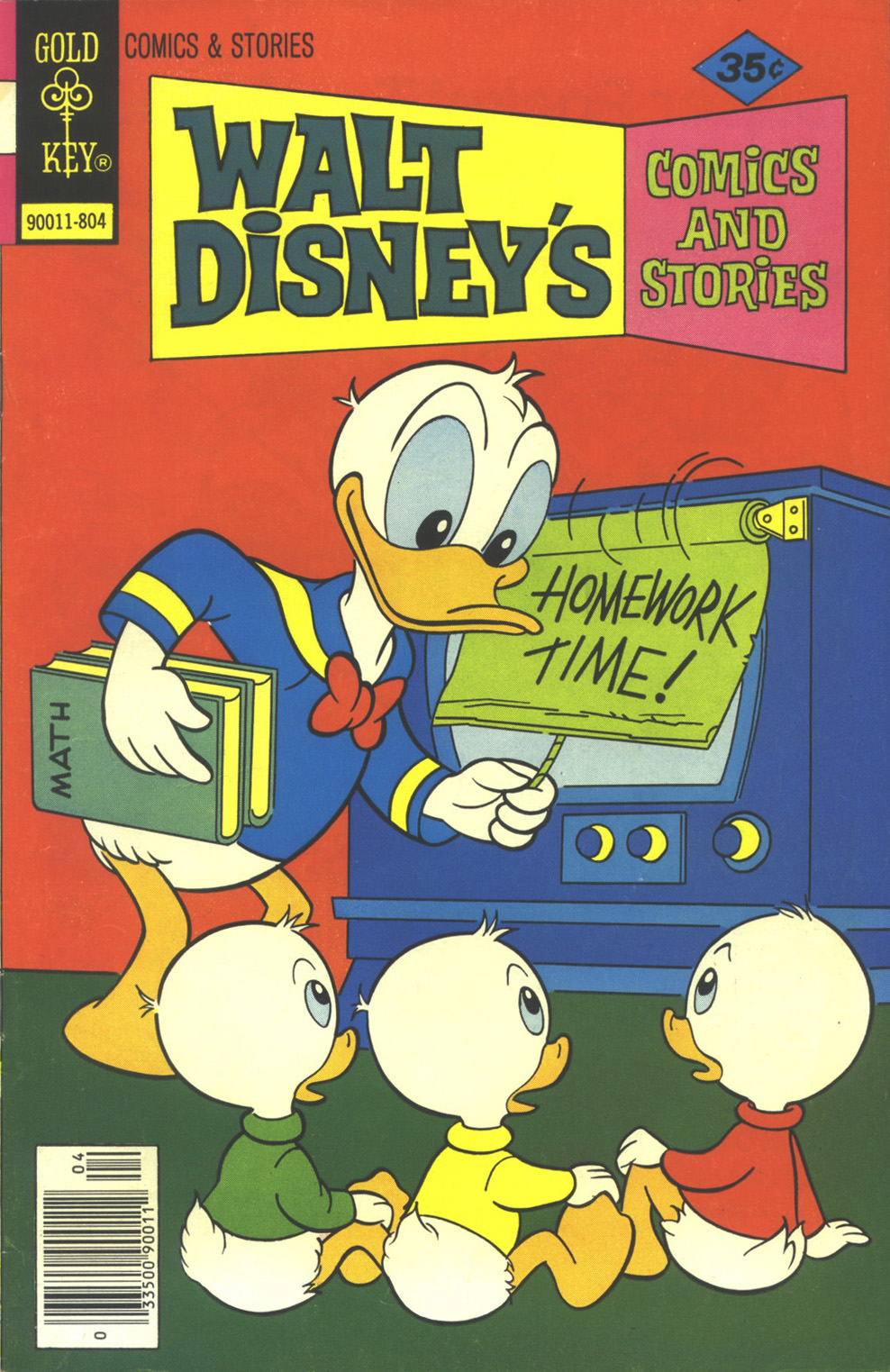 Walt Disney's Comics and Stories issue 451 - Page 1