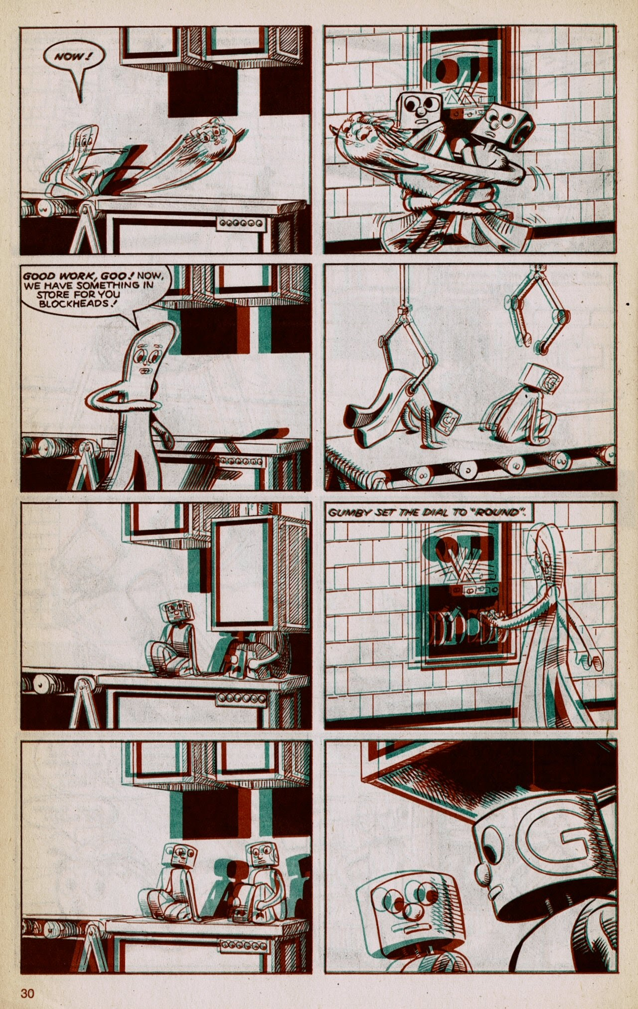 Gumby 3-D issue 1 - Page 32