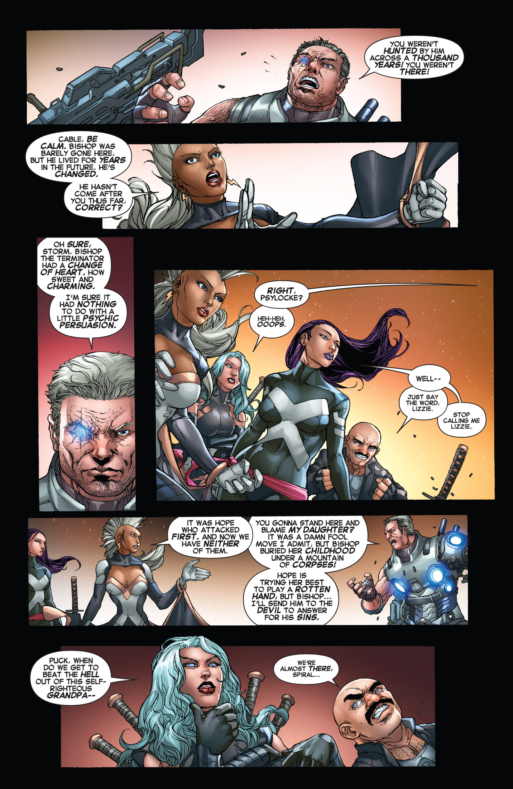 Read online Uncanny X-Force (2013) comic -  Issue #16 - 4