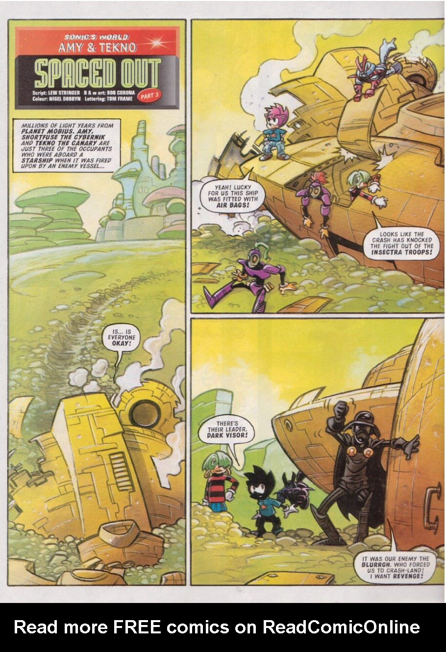 Read online Sonic the Comic comic -  Issue #113 - 23