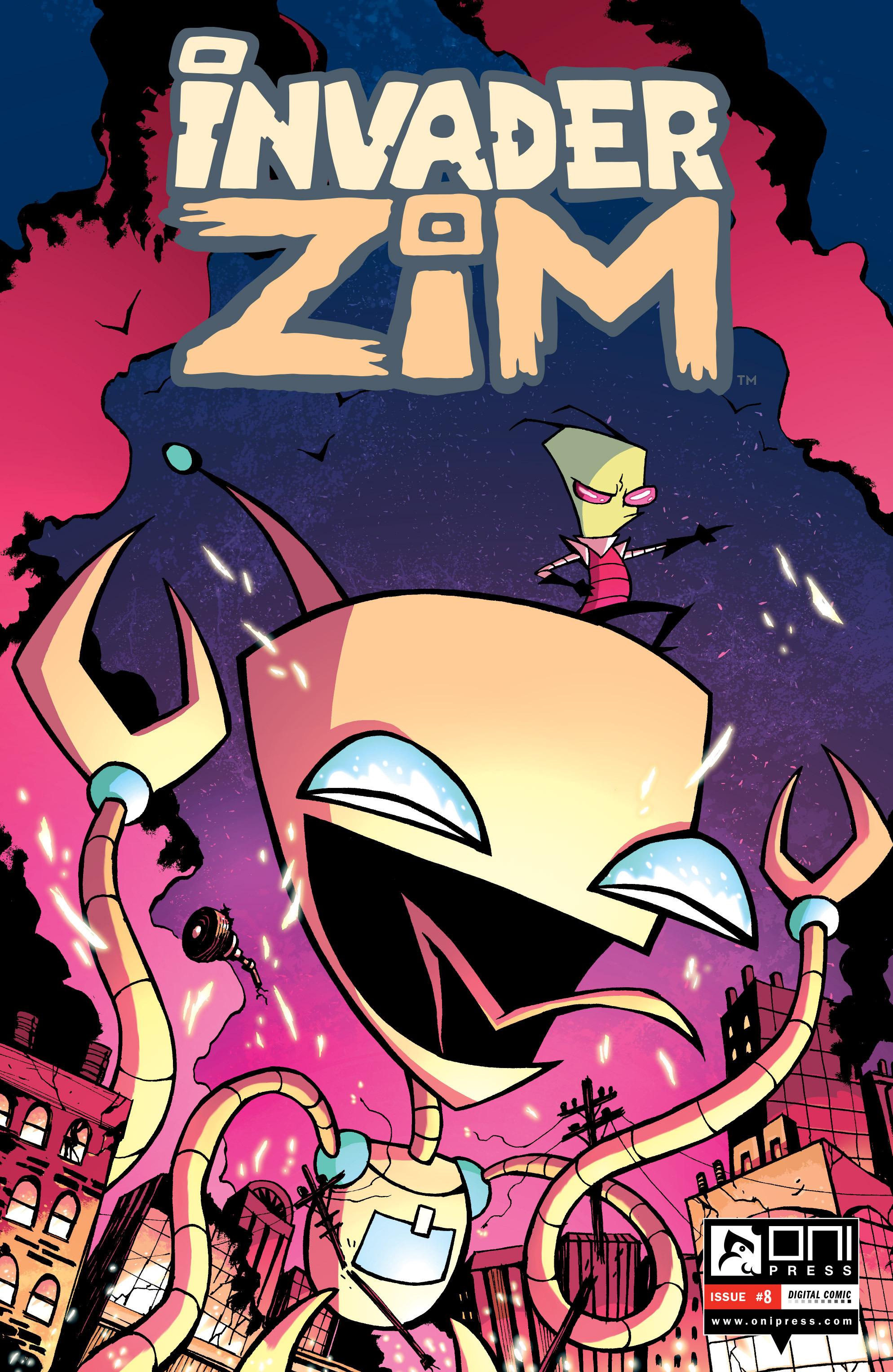 Invader Zim 8 Page 1