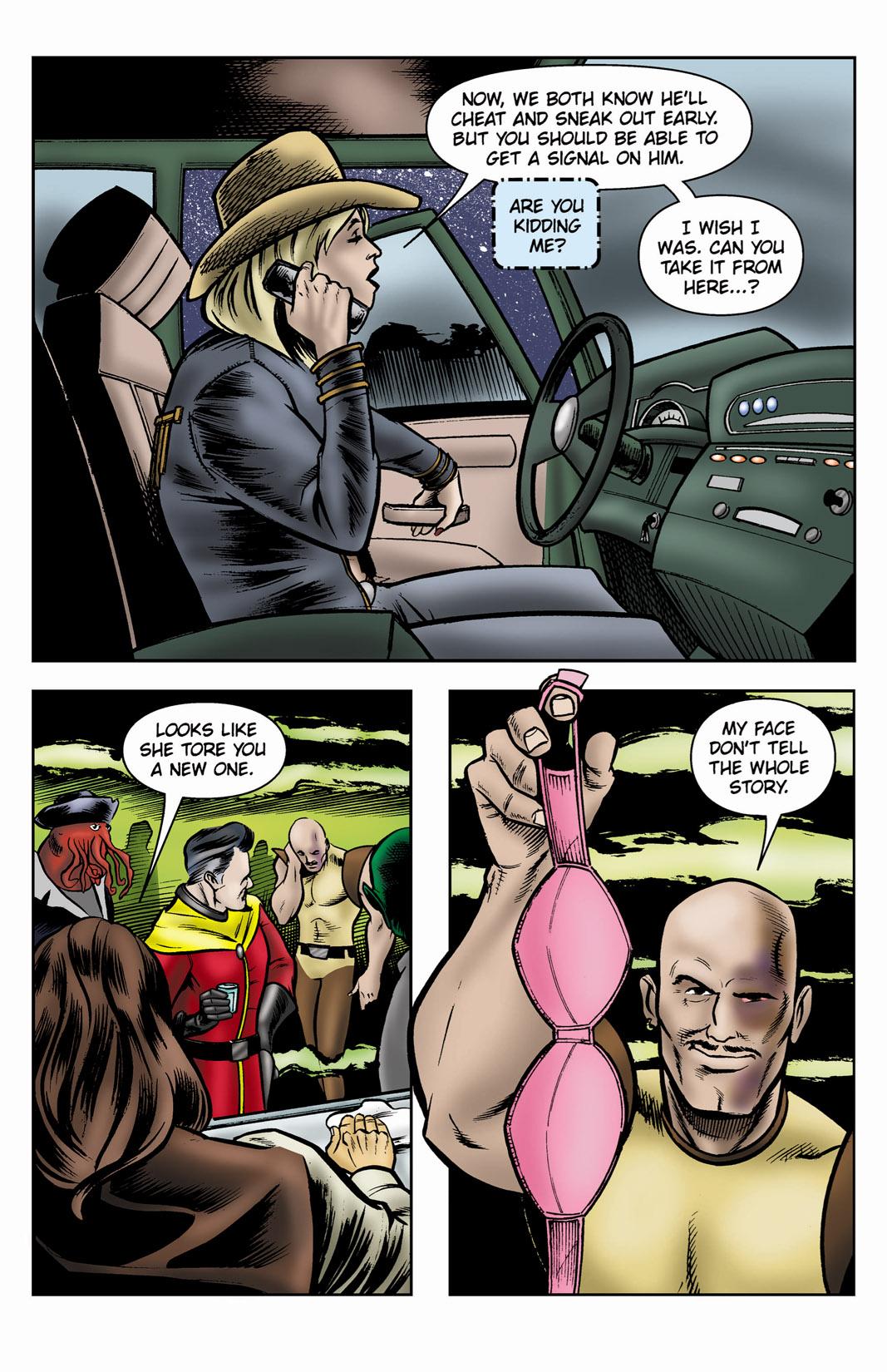 Read online SideChicks comic -  Issue #3 - 14