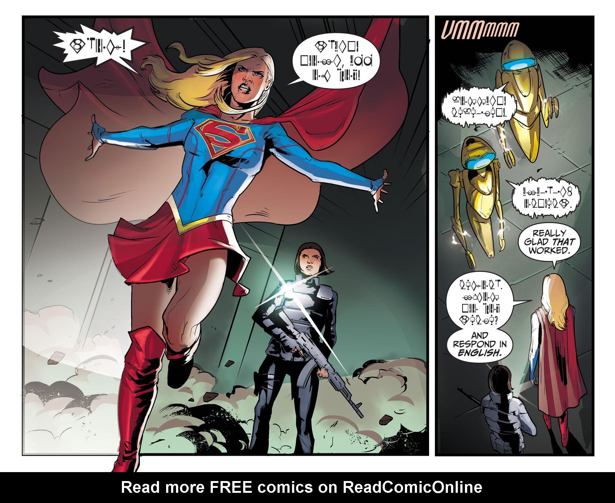 Read online Adventures of Supergirl comic -  Issue #8 - 18