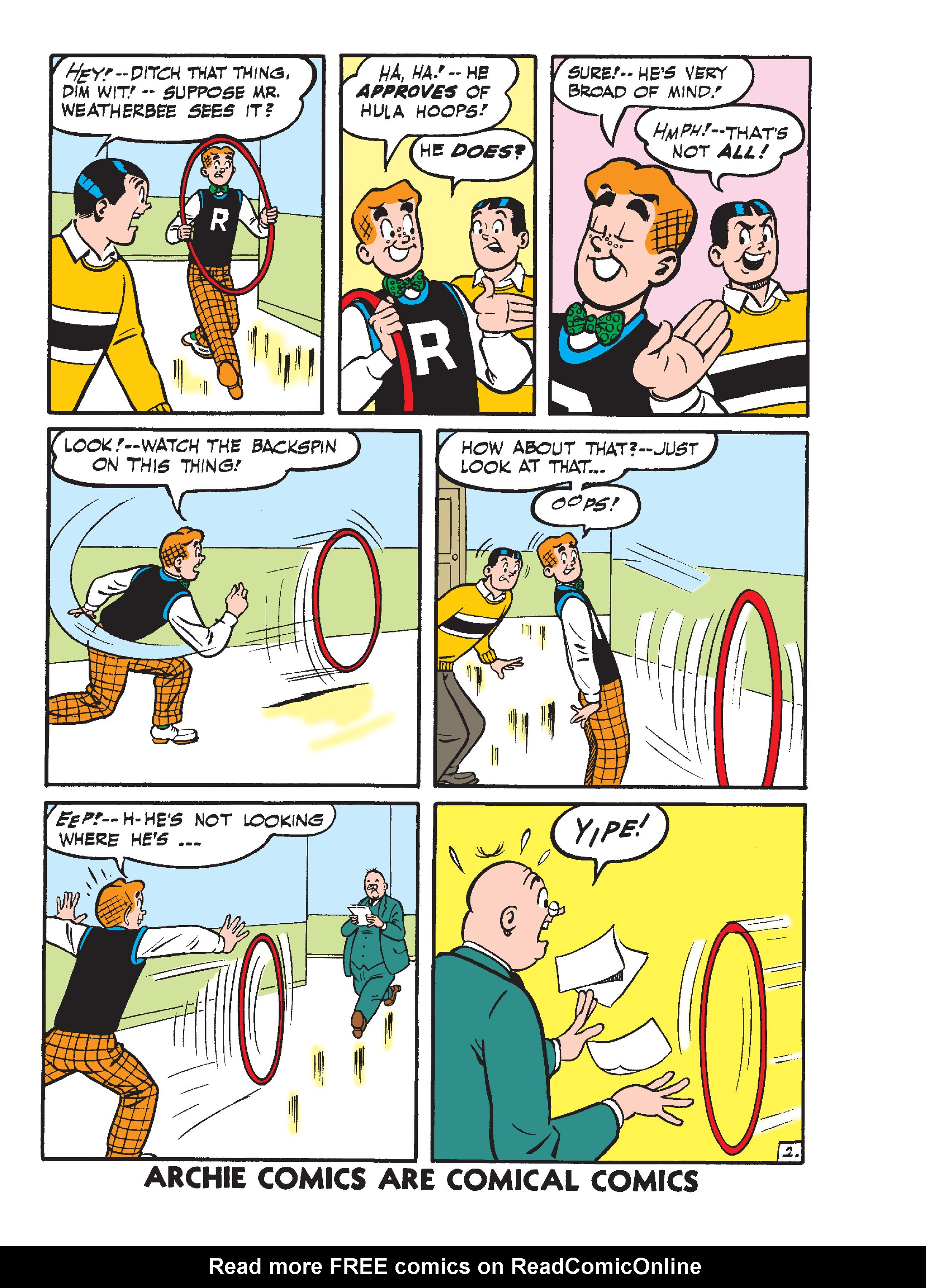 Read online Archie's Funhouse Double Digest comic -  Issue #15 - 143