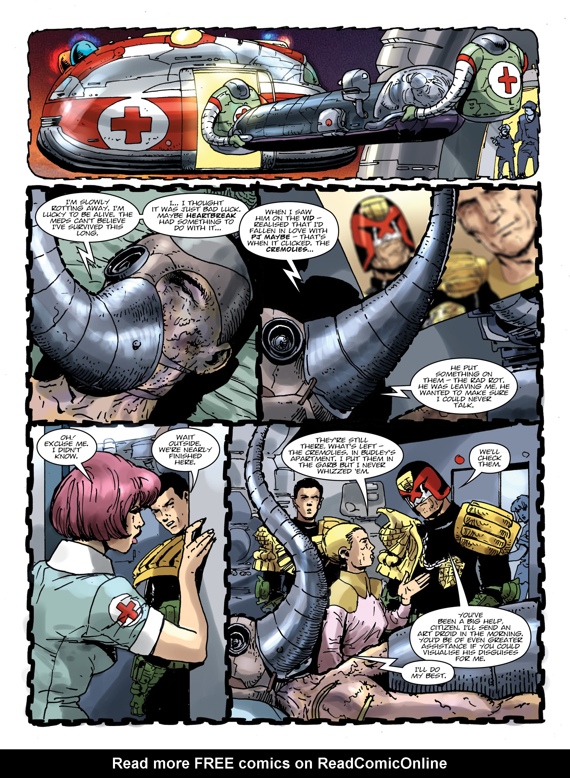 Read online 2000 AD comic -  Issue #1992 - 6